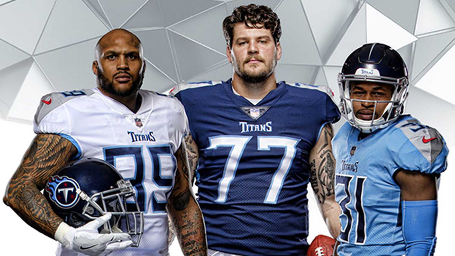 new style a997b d6c95 Tennessee Titans reveal edgy uniforms | NBC Sports