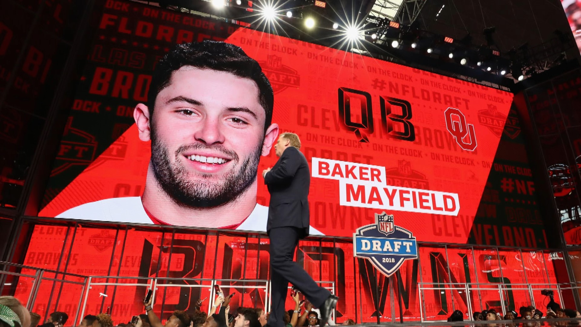 7f80bd6cb 2018 NFL Draft: Mayfield will have easier transition to NFL than Manziel |  NBC Sports