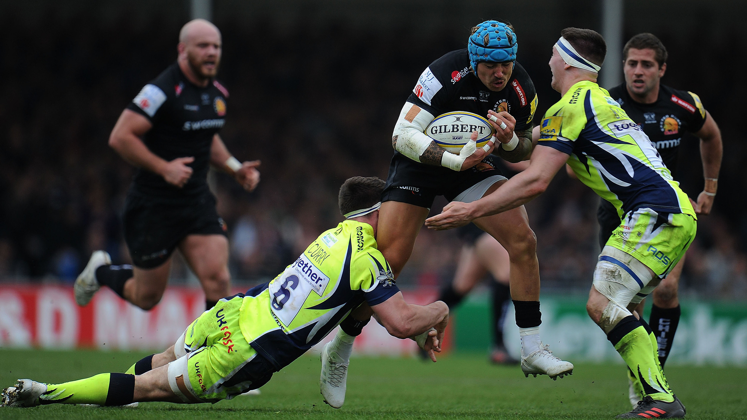 c2edf296 Exeter Chiefs 34, Sale Sharks 19 highlights   NBC Sports