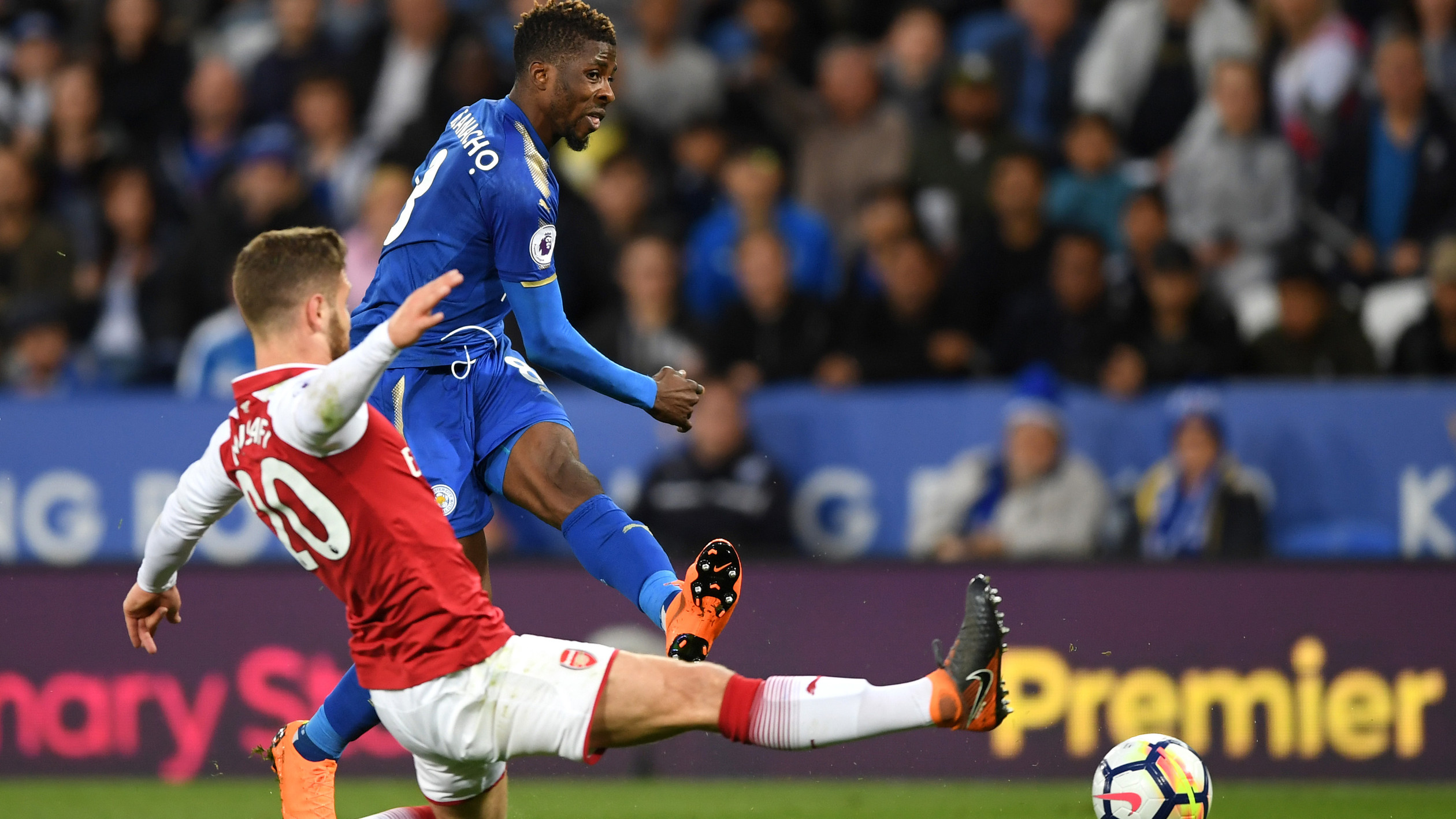 Leicester City 3, Arsenal 1 highlights | NBC Sports