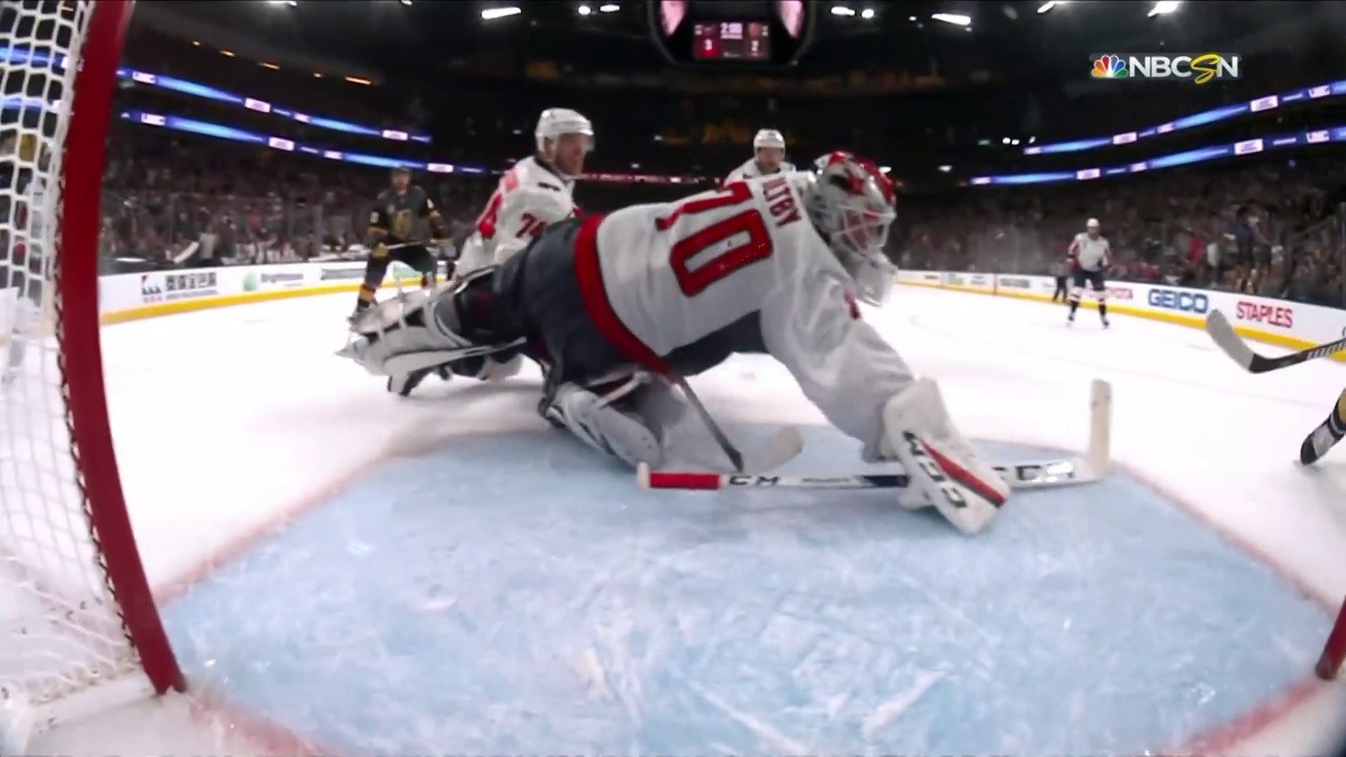 Braden Holtbys Incredible Clutch Save Seals Capitals Victory Nbc