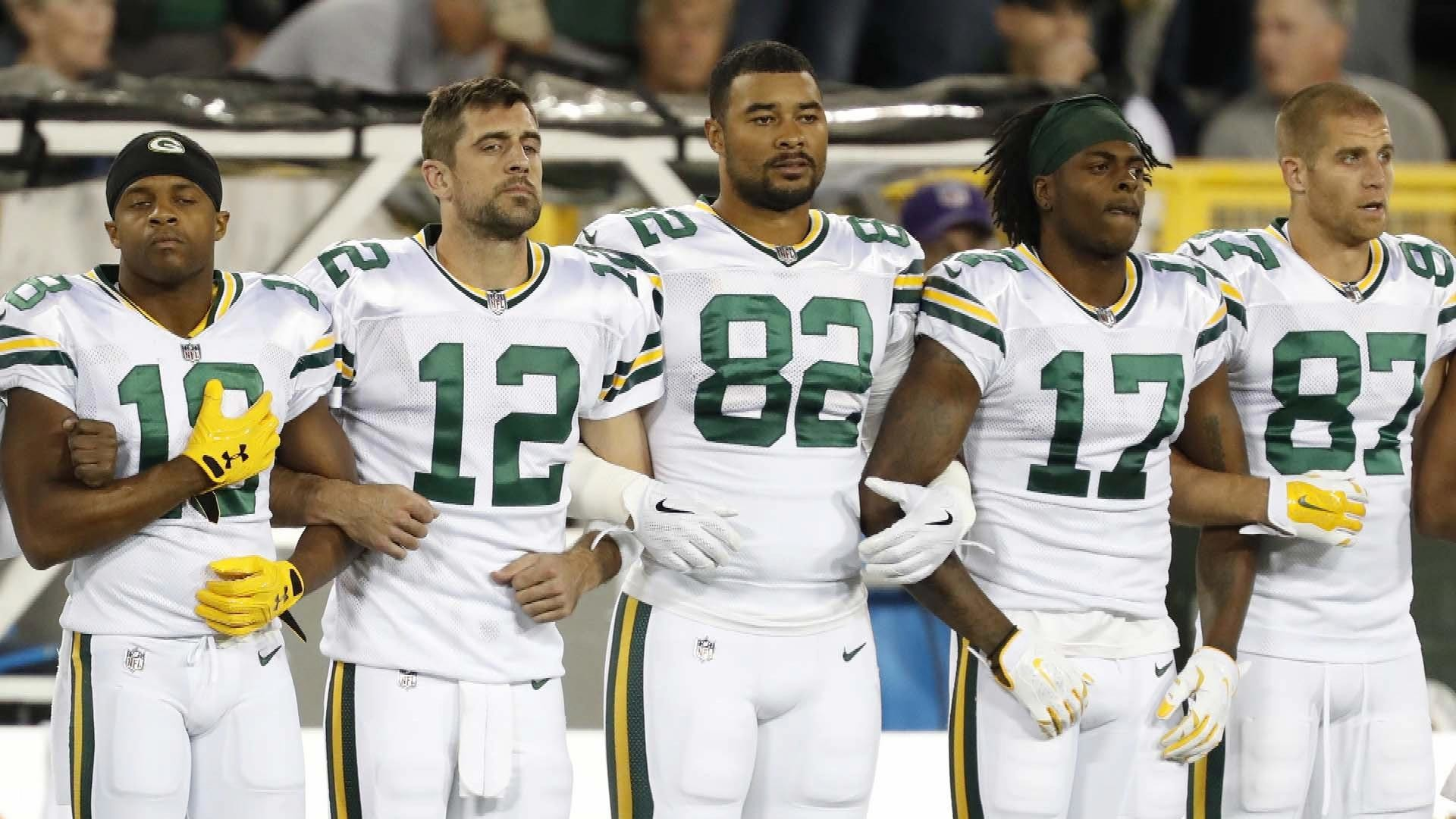 Anthem Controversy Had No Impact On Green Bay Packers Finances Nbc Sports