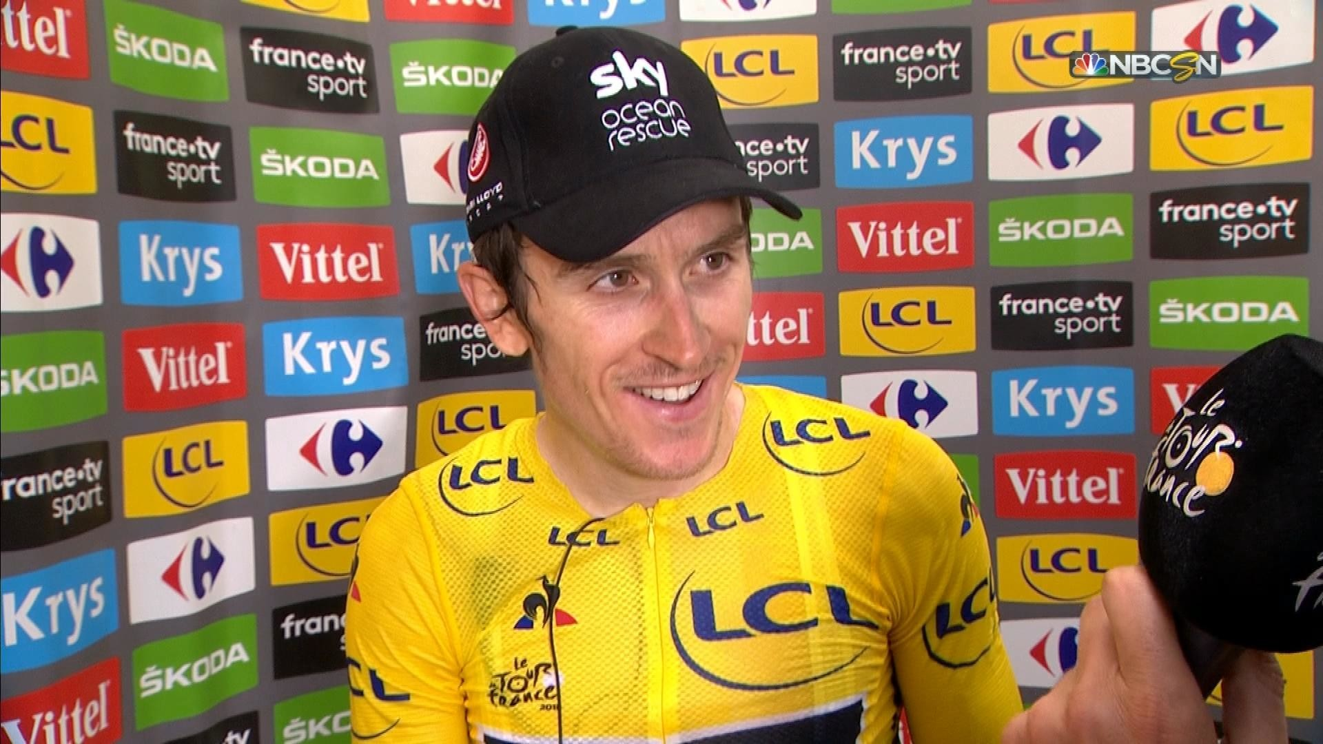 1872121fb Tour de France  Geraint Thomas surprised by Stage 12 win at Alpe d Huez