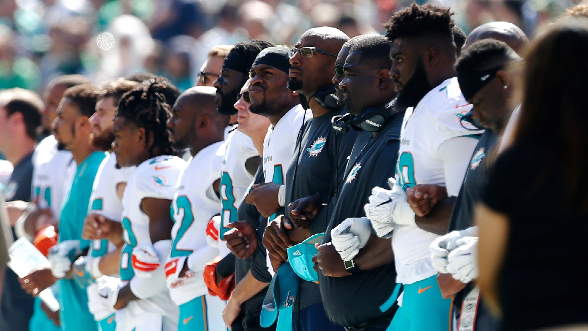 Miami Dolphins List Potential Punishments For Violating New Anthem Rule Nbc Sports