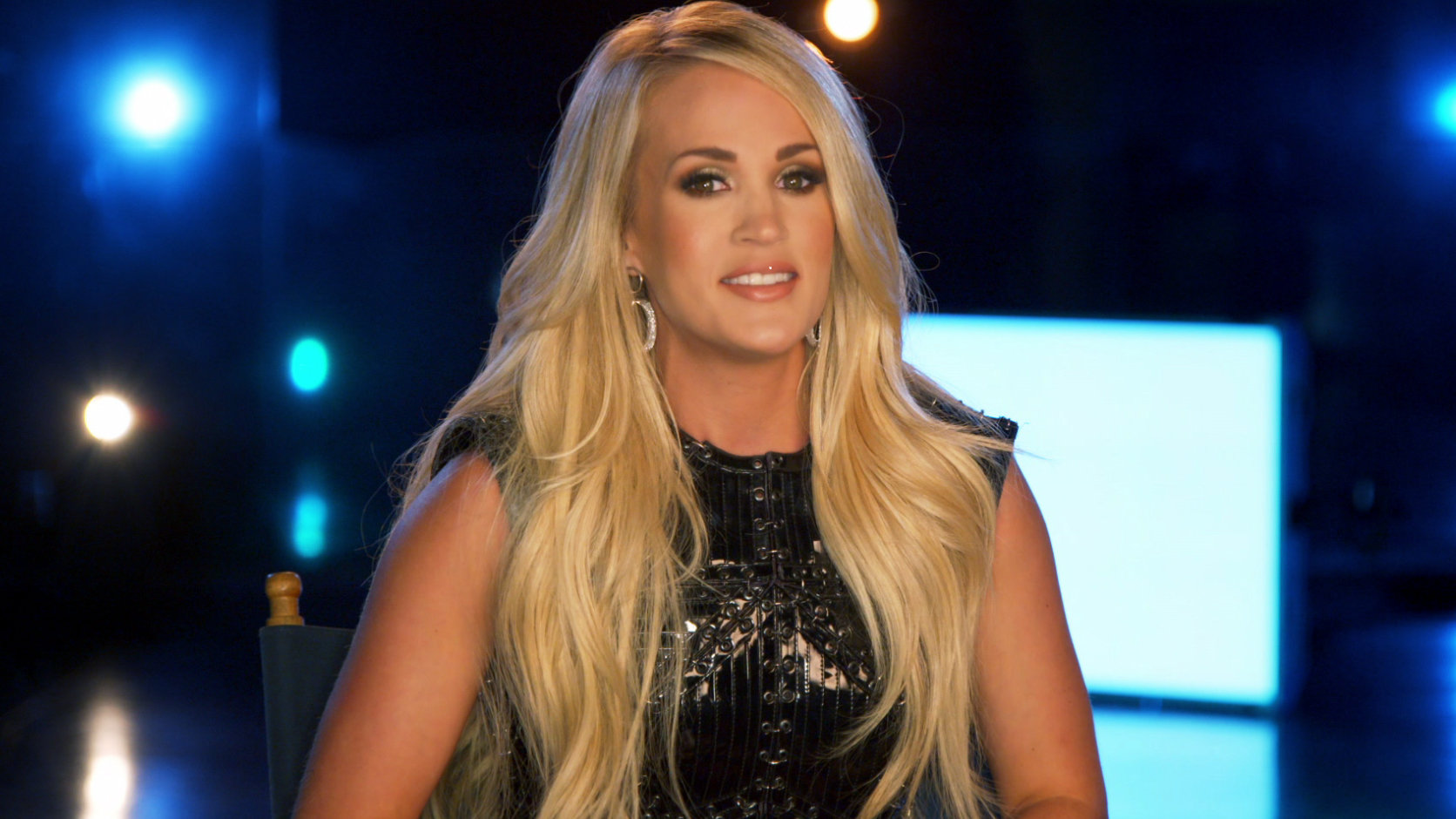 Carrie Underwood's behind-the-scenes look at Sunday Night Football opening - NBC Sports NBCS-Logo gold ...
