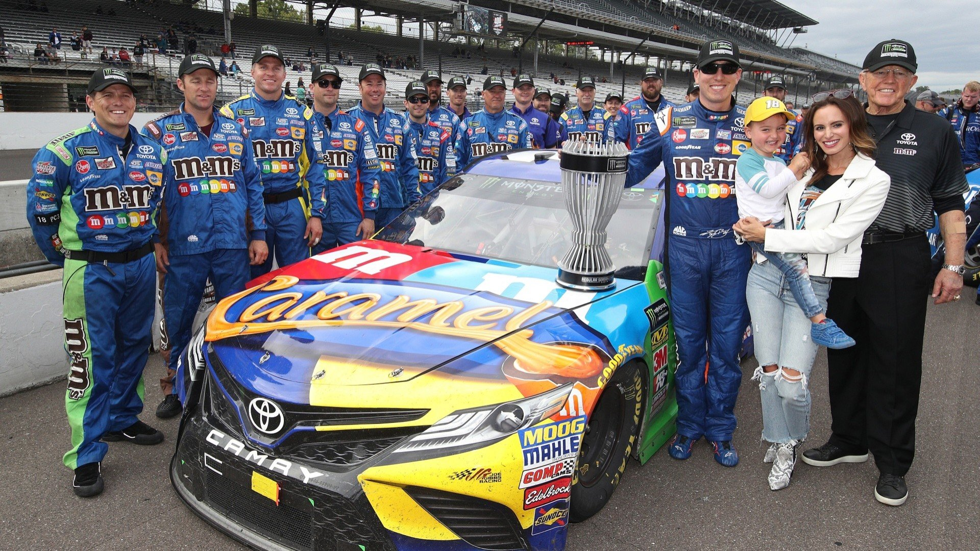 6cc0f246b9e Kyle Busch on Cup playoffs  Every round is going to be chaotic