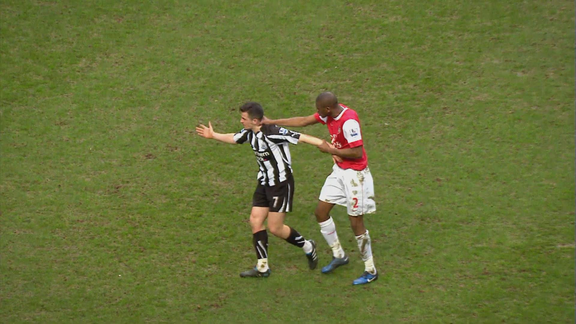 Newcastle S Four Goal Comeback Against Arsenal In 2011 Nbc Sports