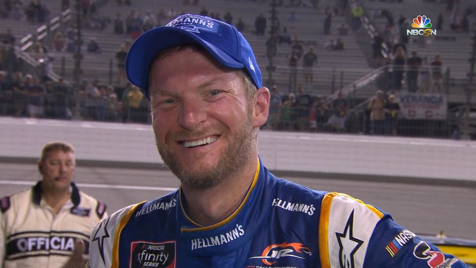 0affb6f23836c1 Dale Earnhardt Jr. leads most laps in Xfinity Series race at Richmond