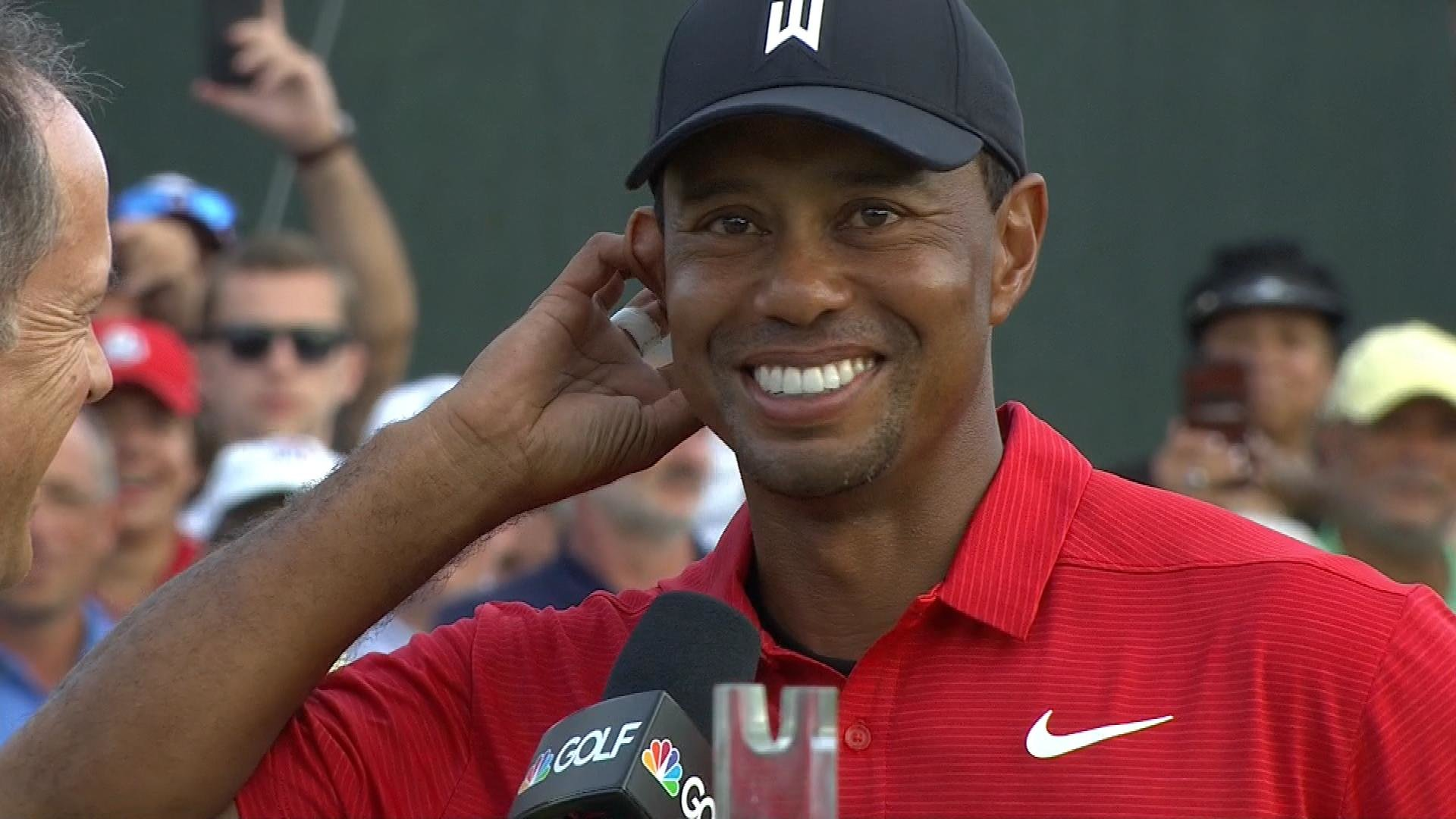 Tiger Woods: 'I just can't believe I've pulled this off' | NBC Sports