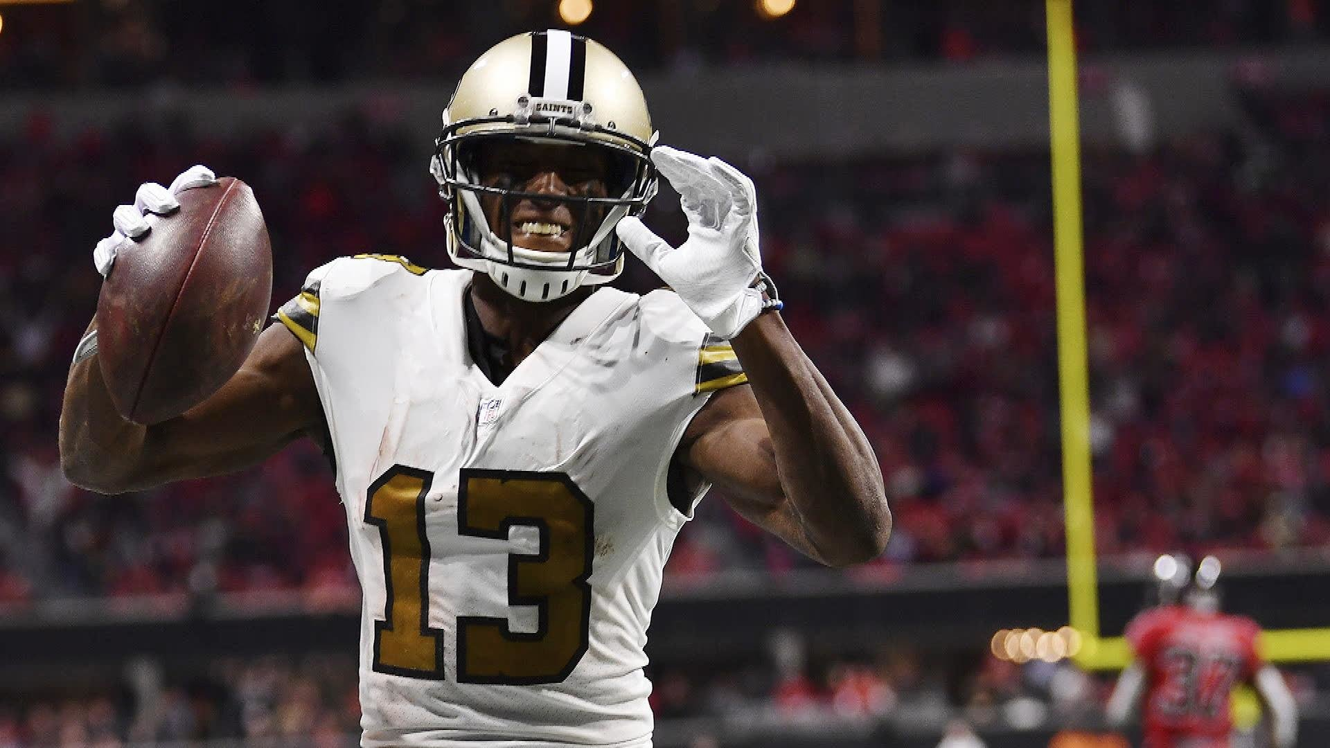 purchase cheap 8f4f2 f8384 New Orleans Saints WR Michael Thomas on pace to shatter ...