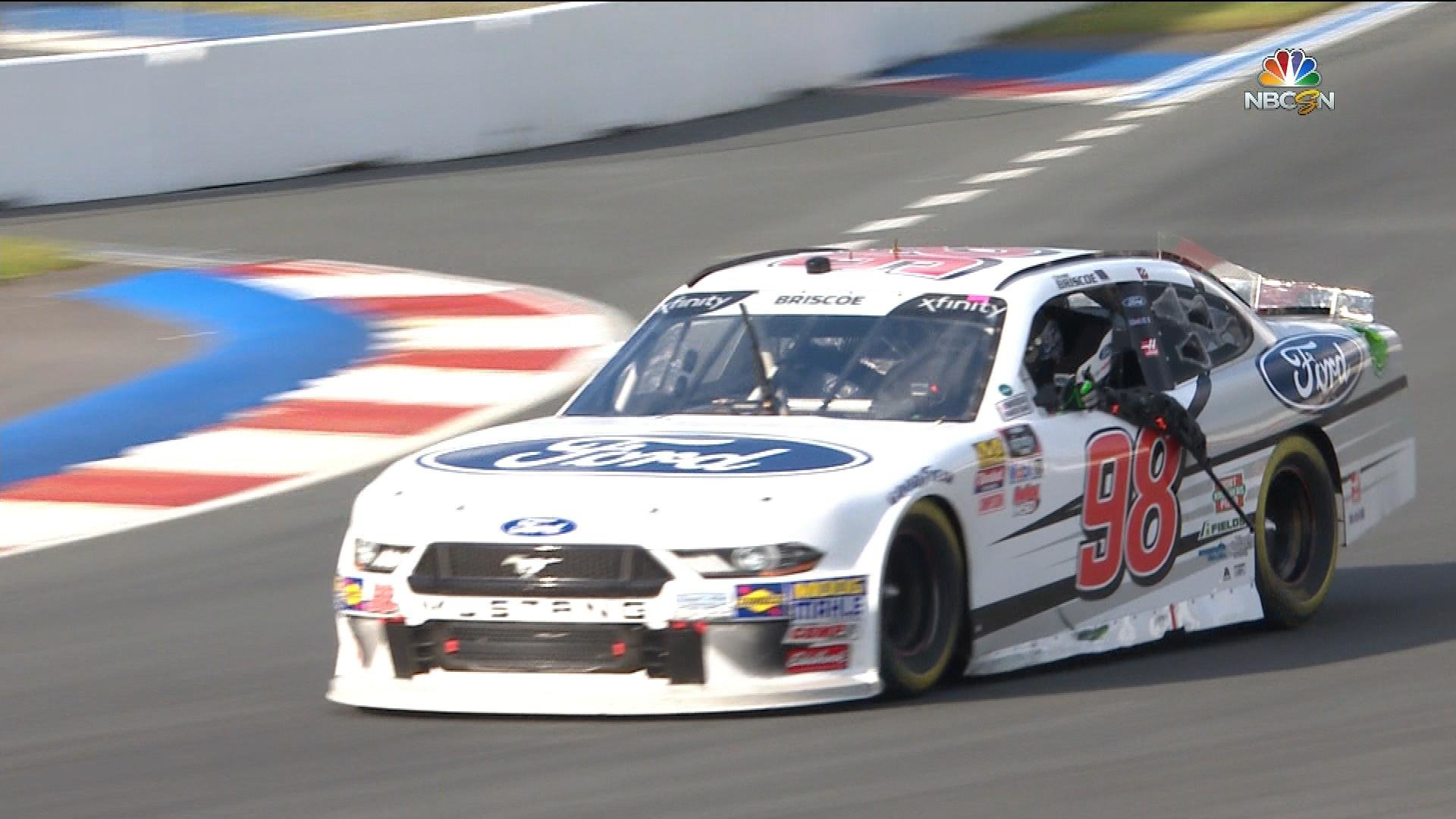 Chase Briscoe captures first NASCAR Xfinity Series win   NBC Sports