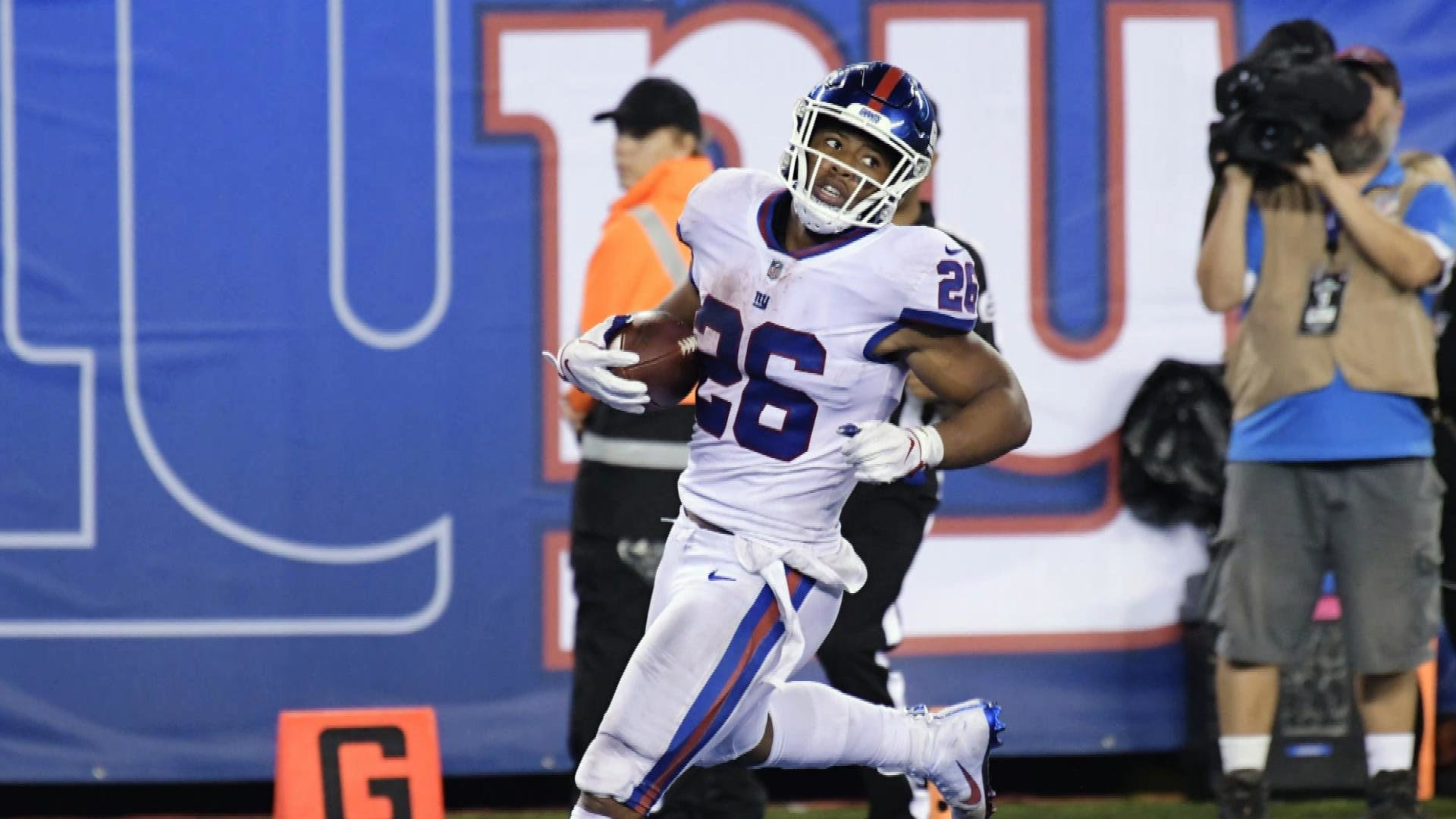 the latest c1ac8 4f401 Saquon Barkley, Week 7 Fantasy Preview | NBC Sports