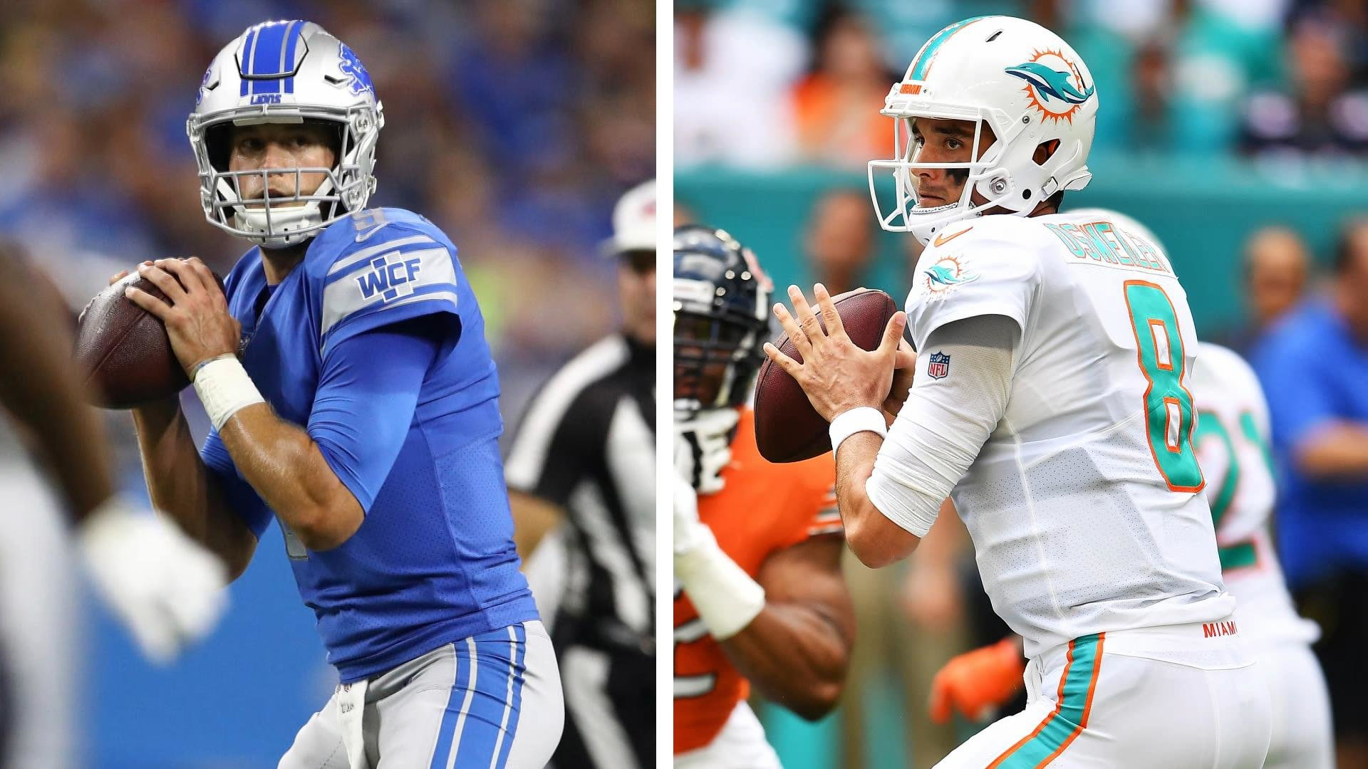 new styles 77cf2 b02b8 Detroit Lions vs. Miami Dolphins Week 7 preview | NBC Sports