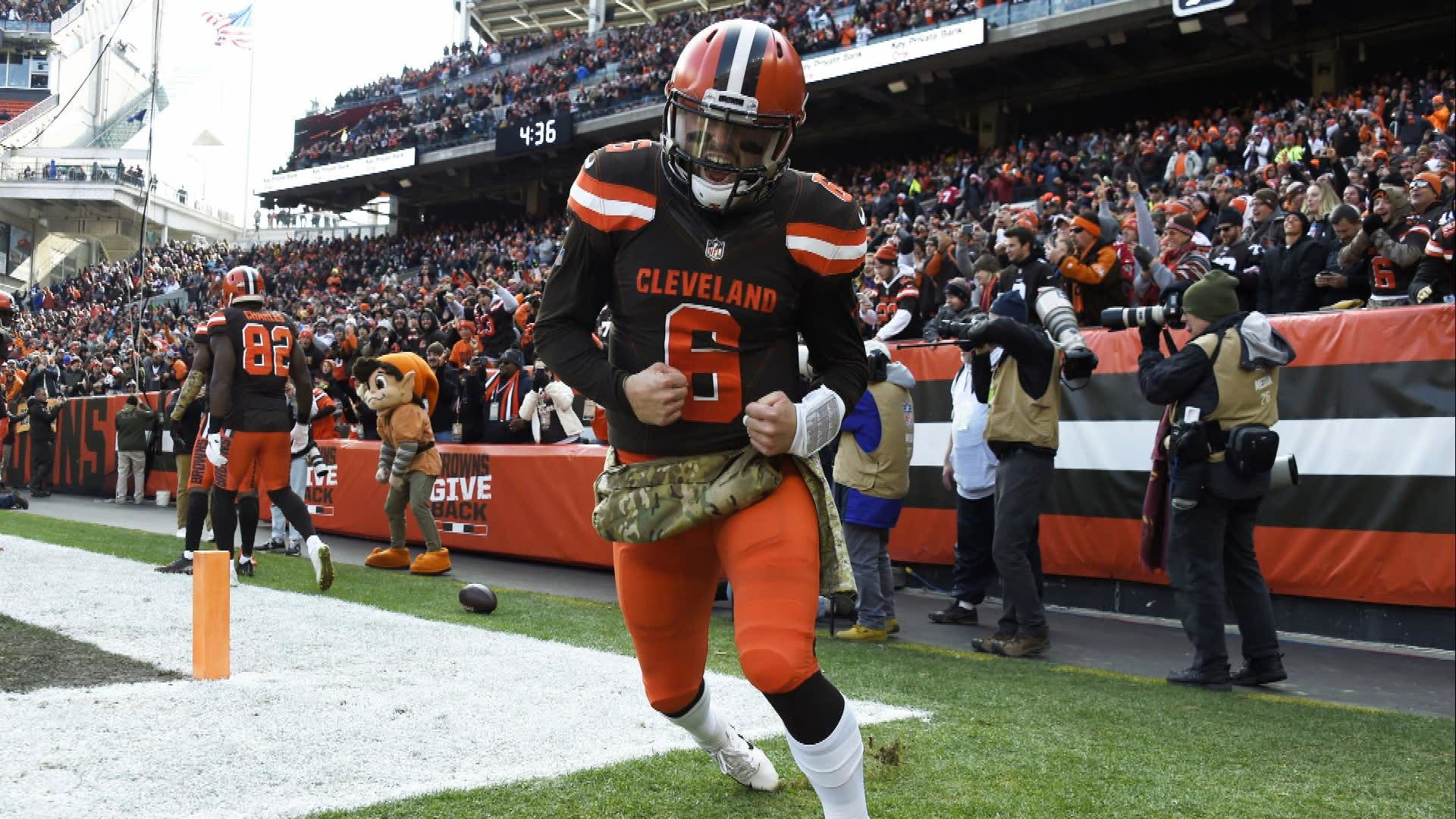 d62623f03 Baker Mayfield shines in the Cleveland Browns  win over the Atlanta Falcons