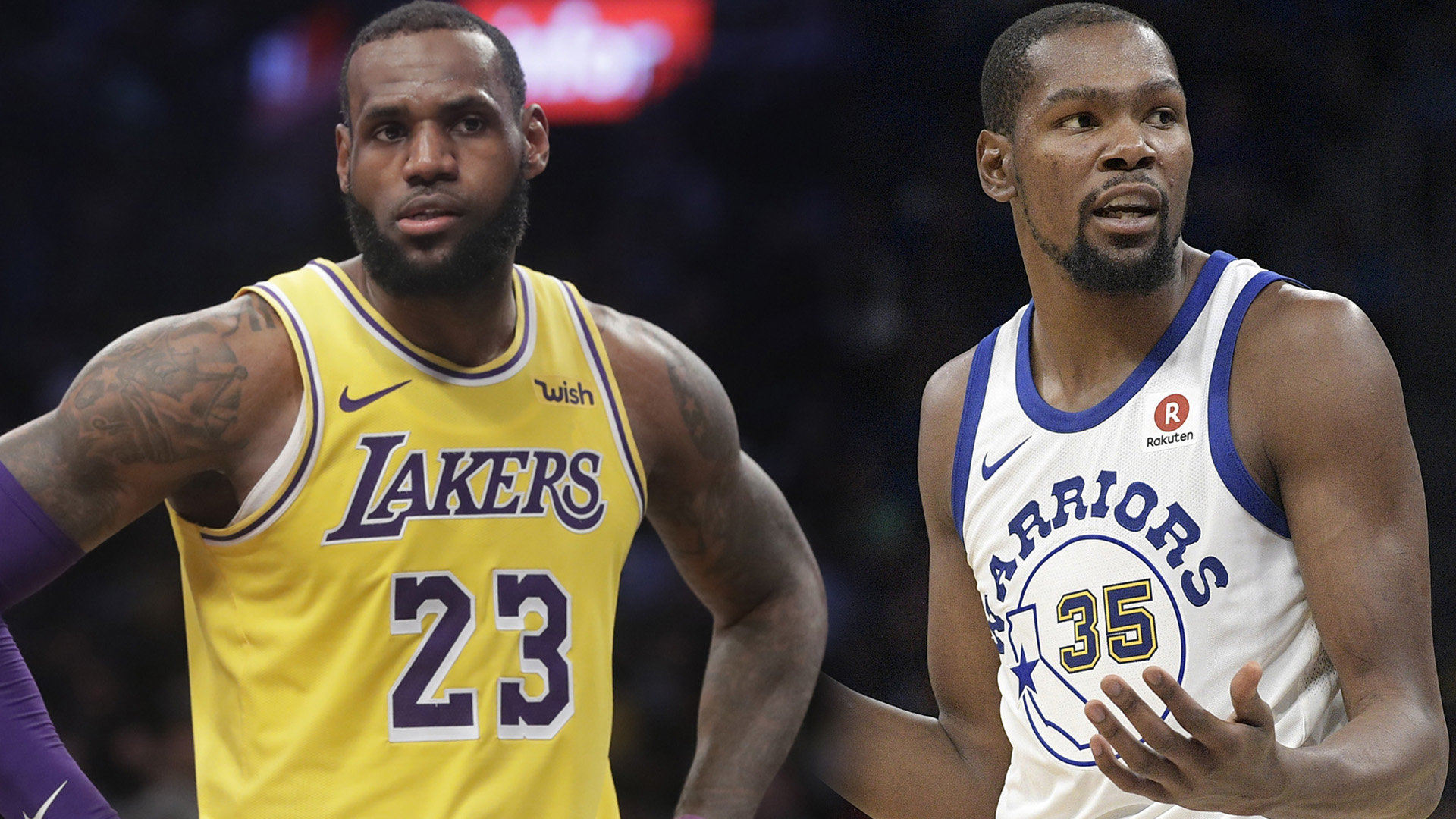 superior quality d2a71 84fef LeBron James, Lakers vs. Golden State Warriors headline ...