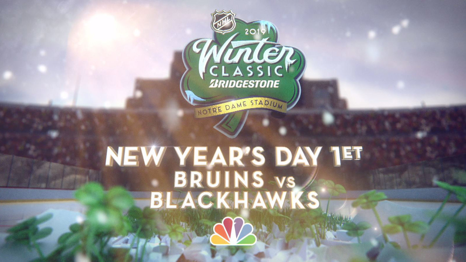 8a753d543 The Bridgestone NHL Winter Classic comes to Notre Dame on New Year s Day