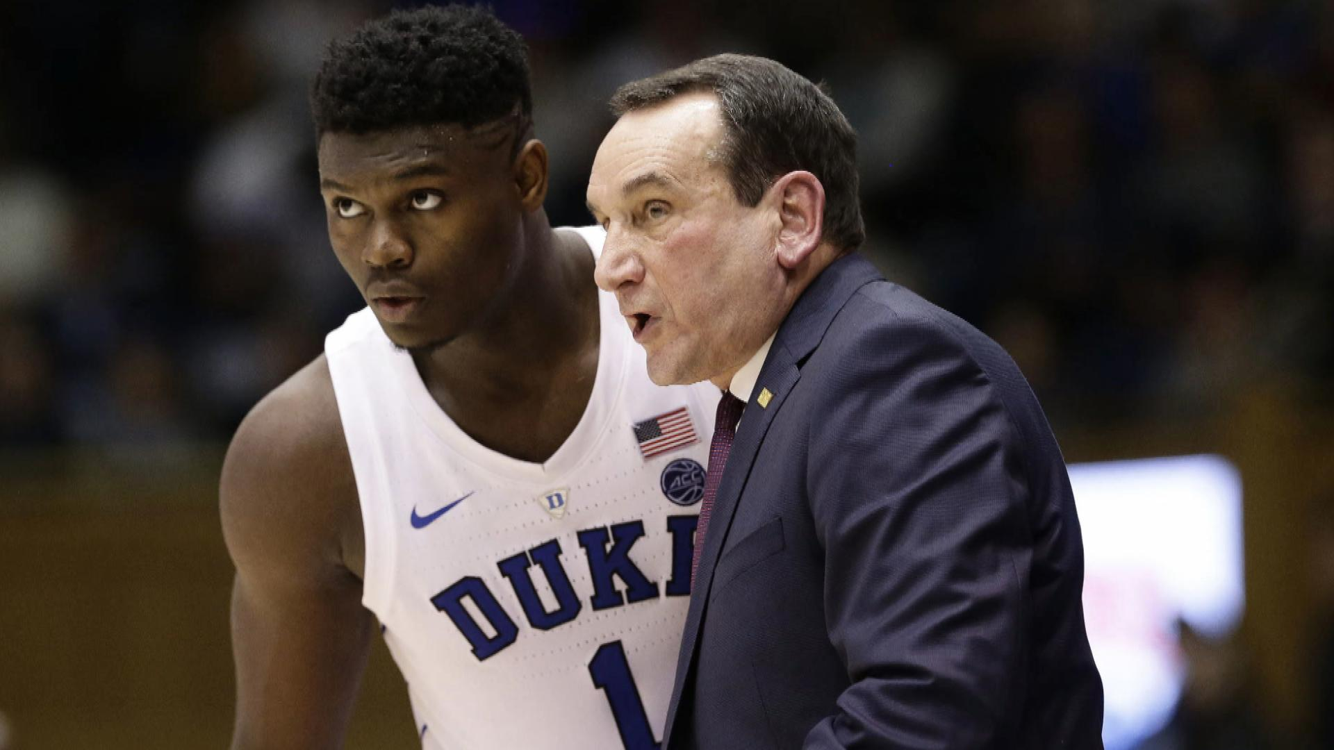 Williamson and Coach K