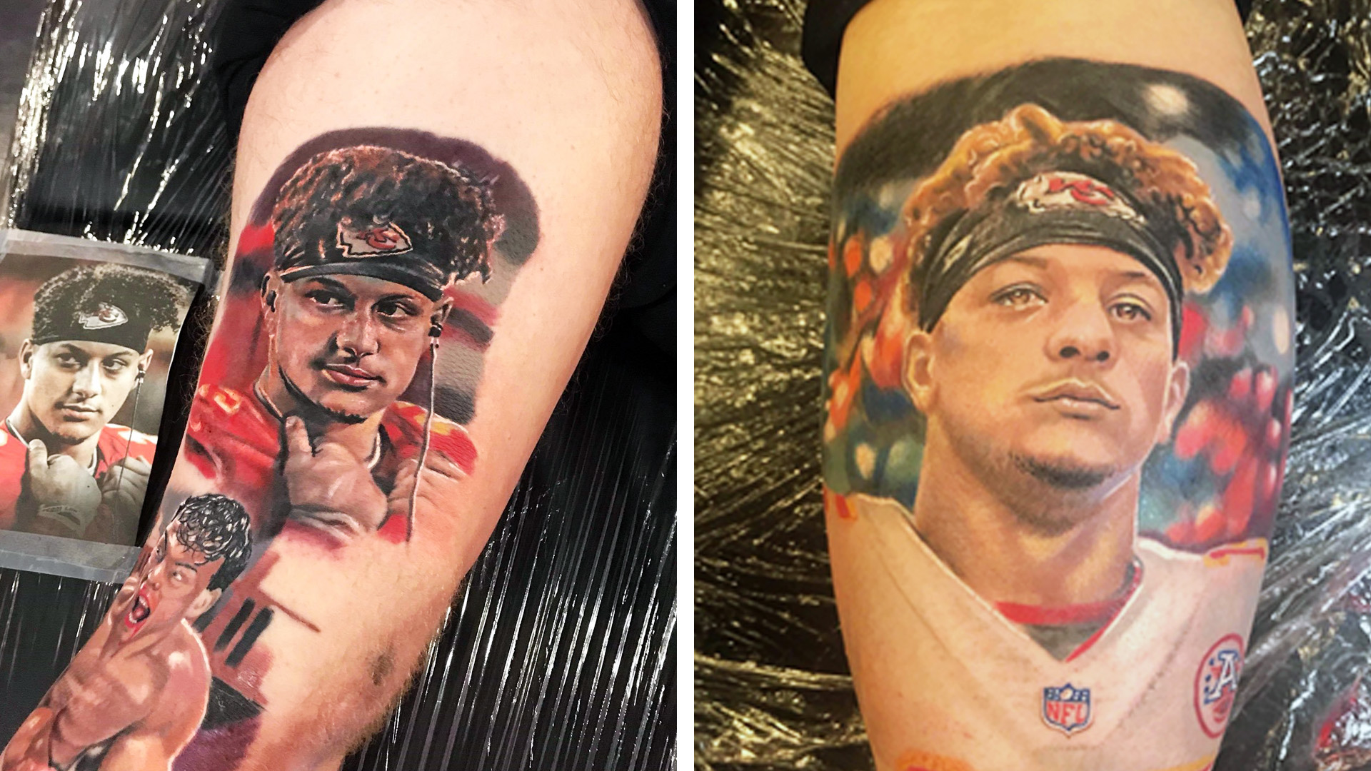 Tattoos Of Kansas City Chiefs Patrick Mahomes Surging Nbc Sports
