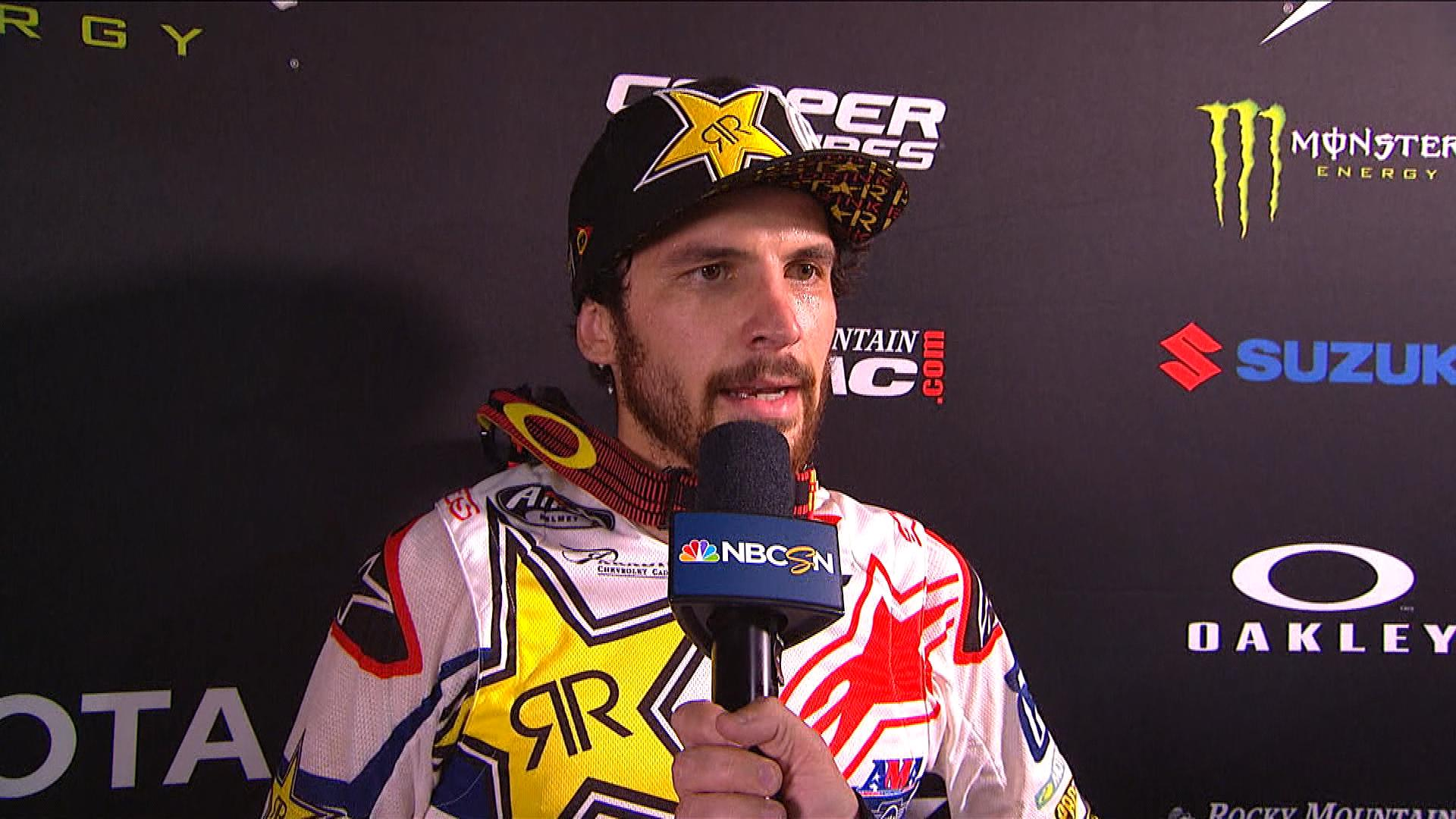 Jason Anderson Kind Of Embarred After Incident In Glendale Nbc Sports