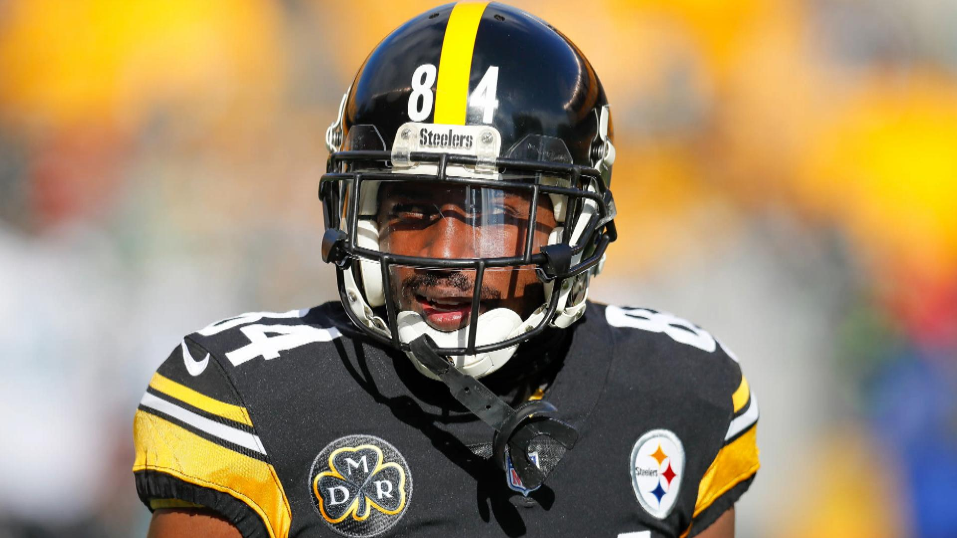1e684ee7a18 Steelers' Antonio Brown, Broncos' Emmanuel Sanders beef on Twitter | NBC  Sports