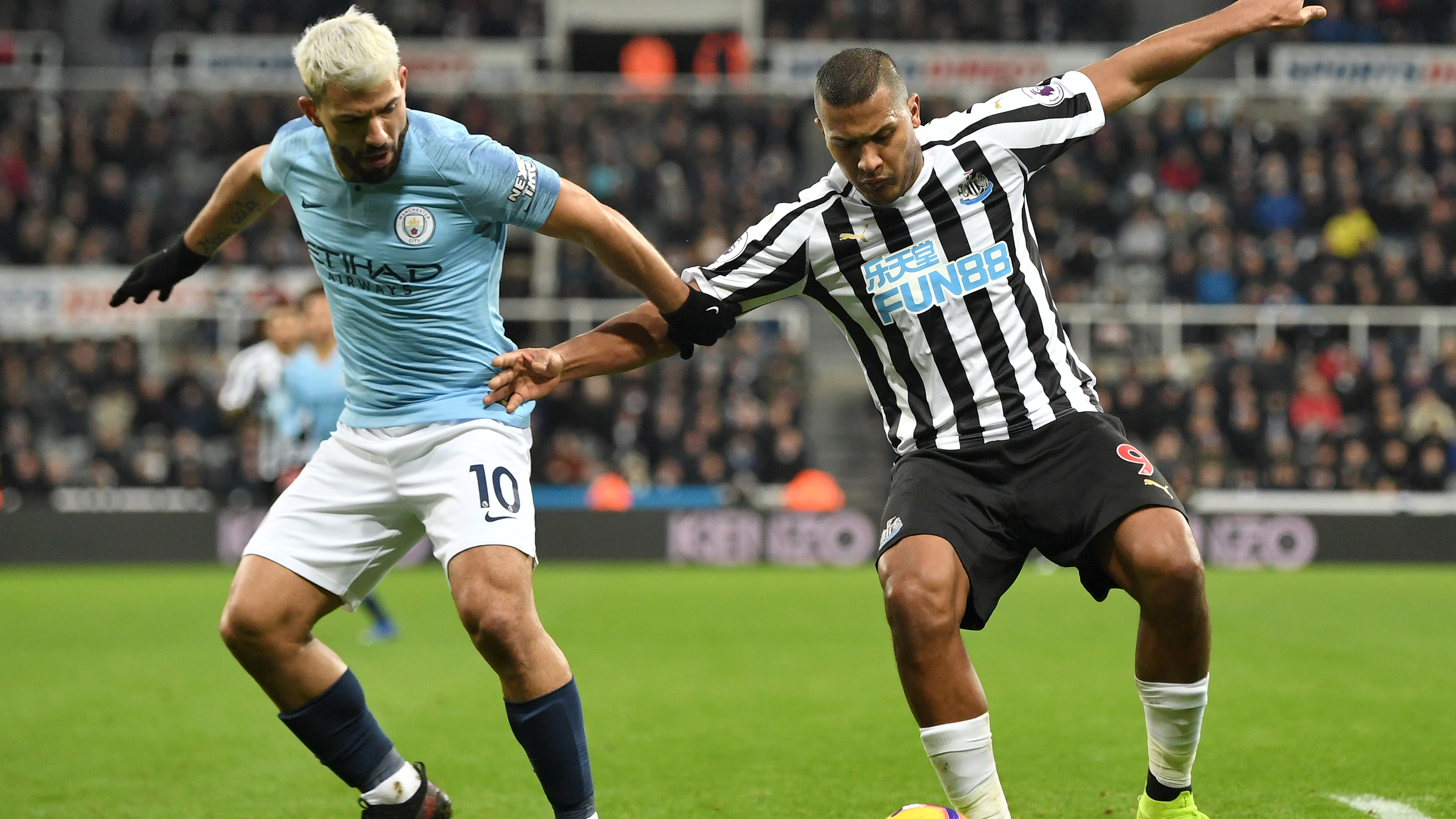 Highlights Newcastle United 2 Man City 1 Nbc Sports