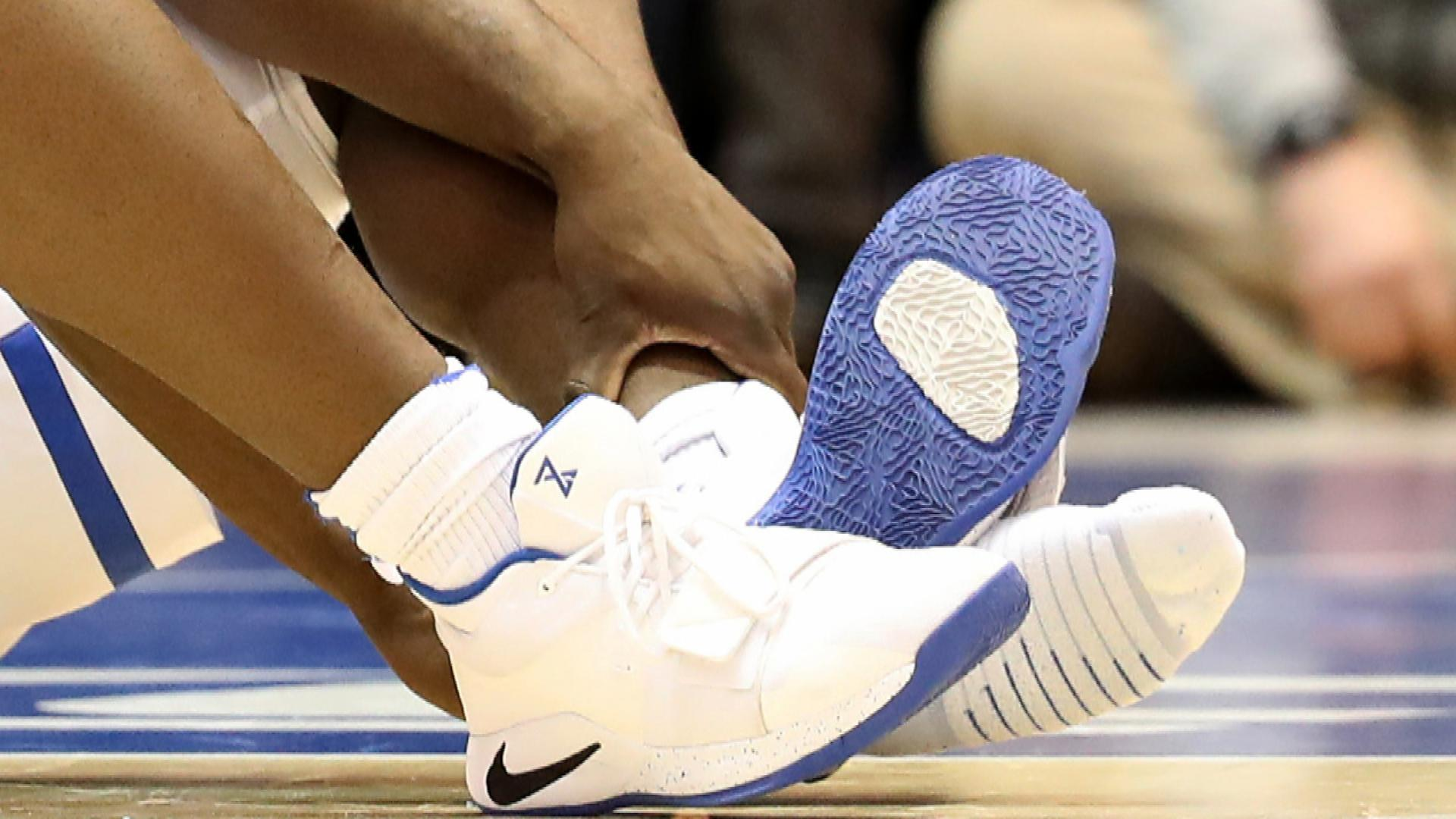 cd7aef940950 Nike stock drops after Duke s Zion Williamson shoe incident