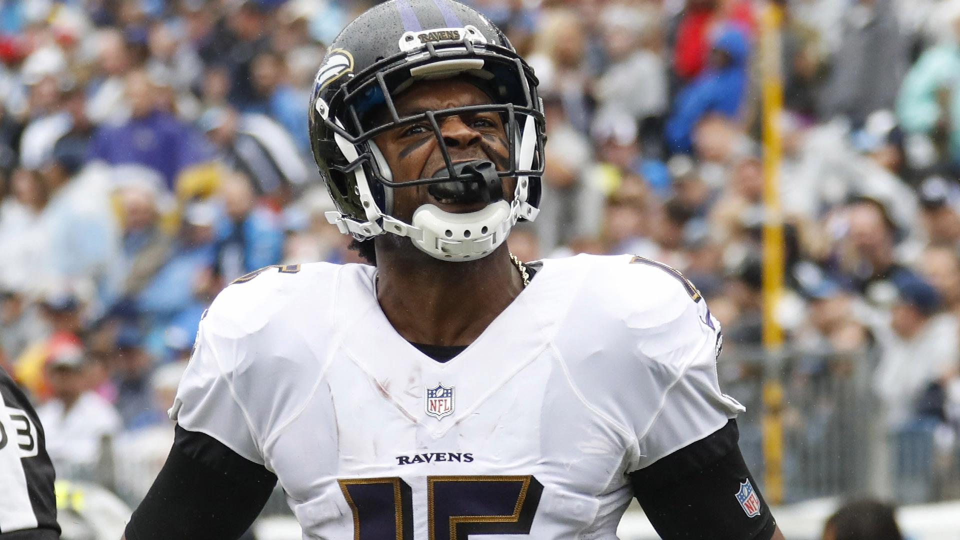 26768dae Did Ravens' new offense push out Michael Crabtree?   NBC Sports