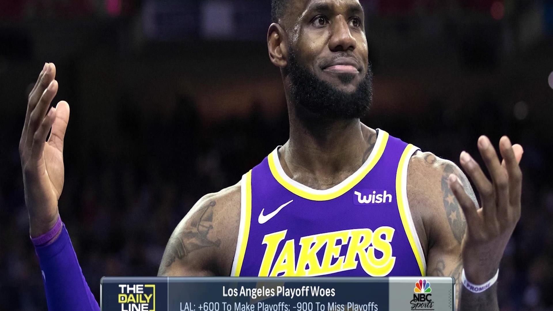 12b41805e Los Angeles Lakers  NBA playoff chances in trouble