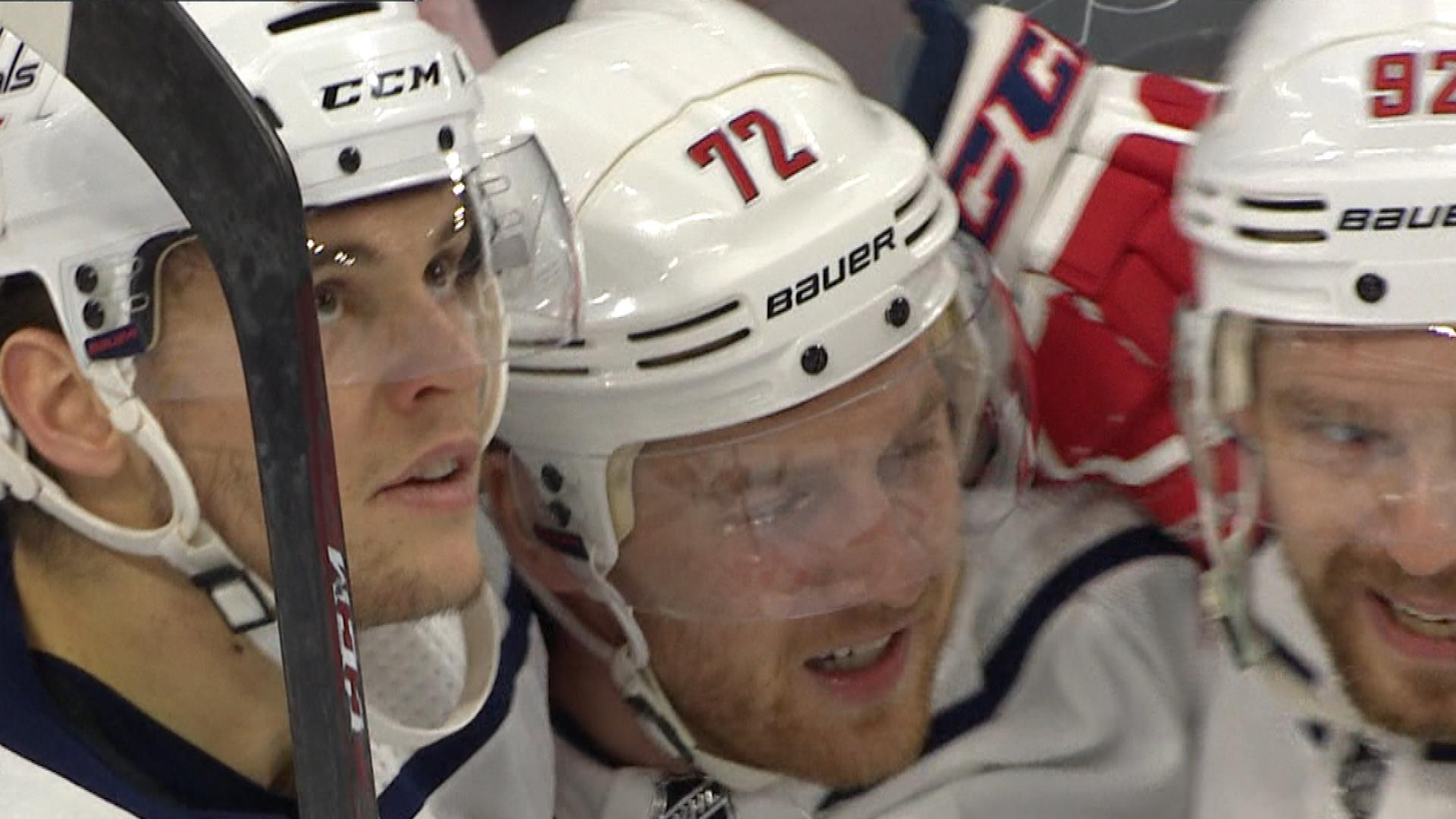 56b60bfc0d1 Andre Burakovsky and Nicklas Backstrom pile on to Washington Capitals lead