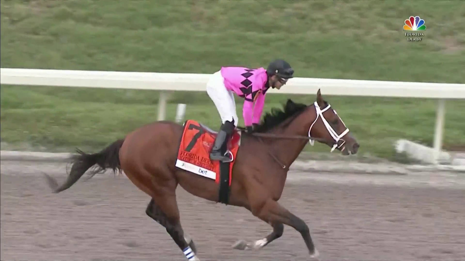 Maximum Security wins Florida Derby at Gulfstream Park | NBC Sports