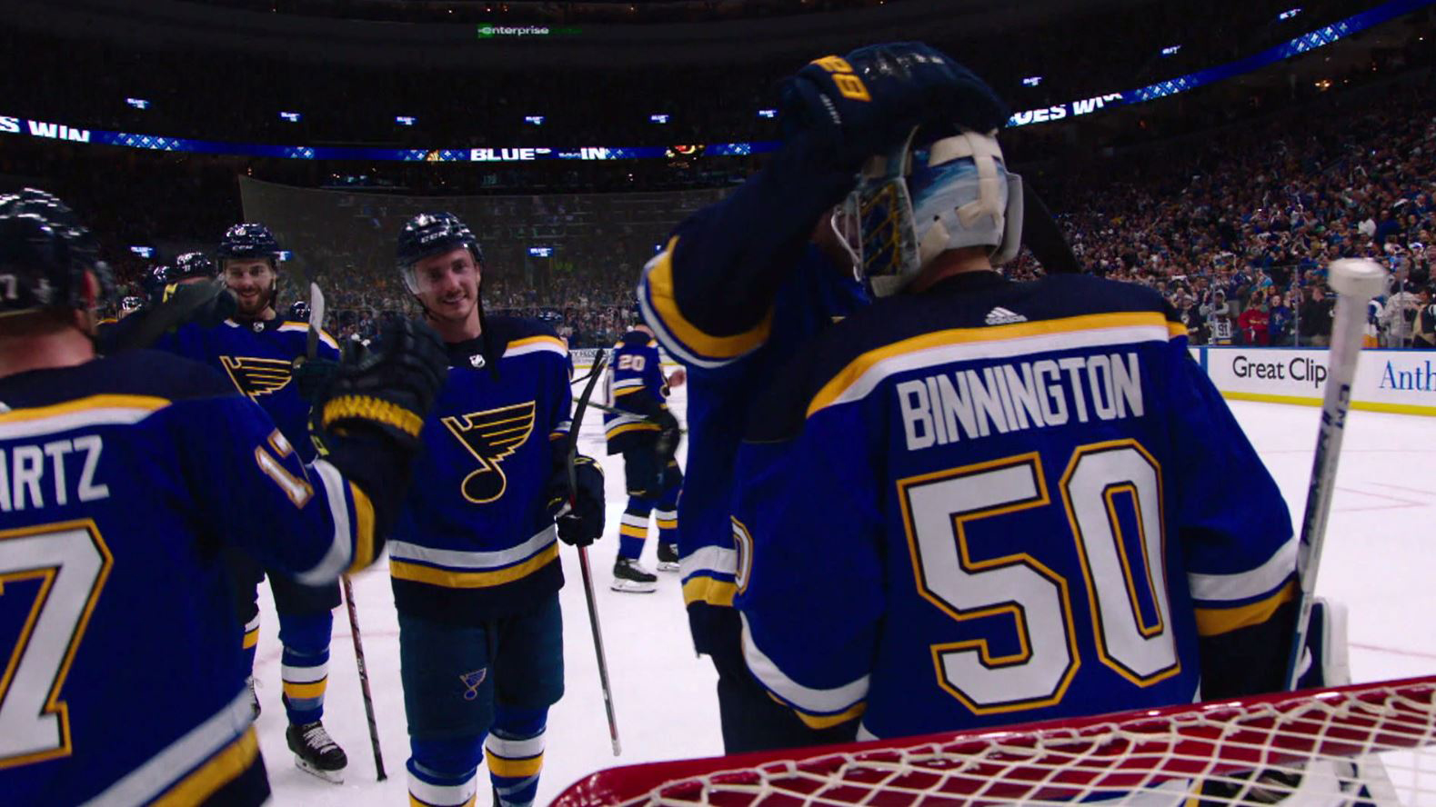 Gloria has become St  Louis Blues' victory song | NBC Sports