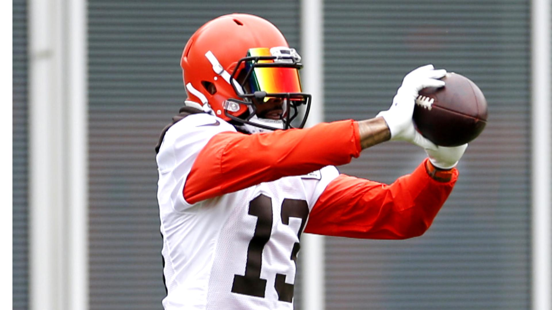 Browns Odell Beckham Jr Is Going To Work Hard In Silence