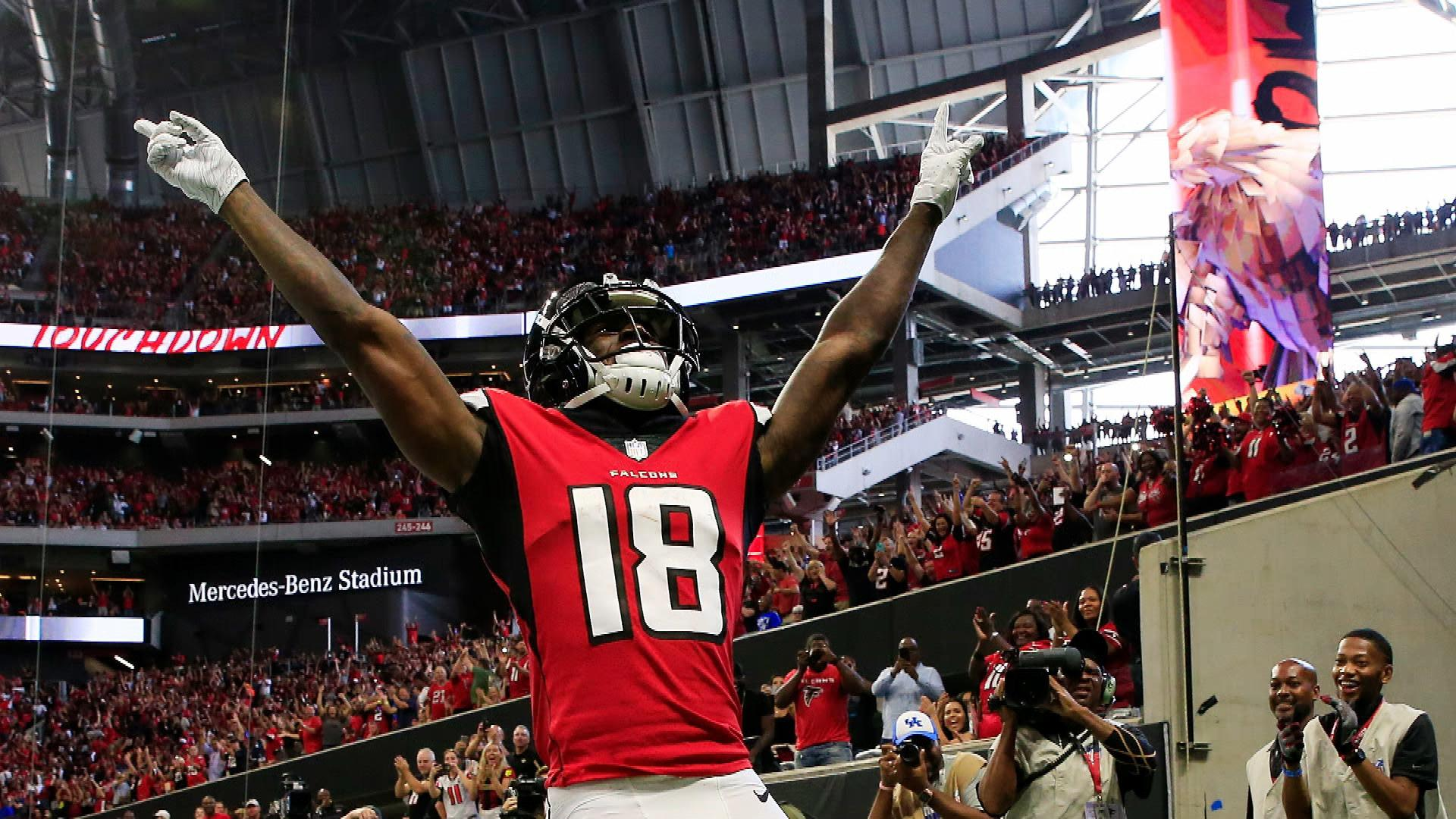 Falcons Burning Question Will Calvin Ridley Get More Playing Time Nbc Sports