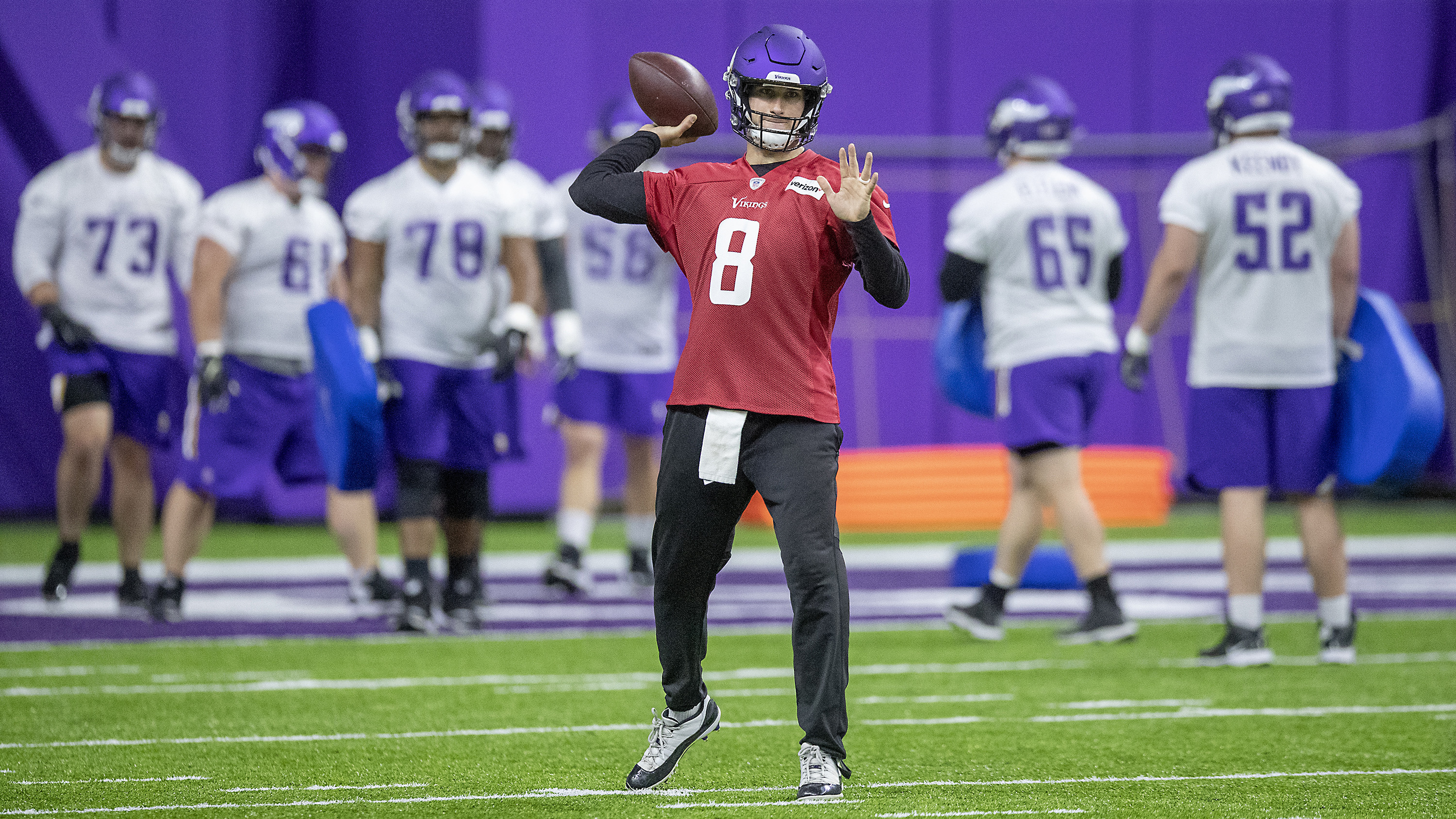 67dc526d Will Kirk Cousins elevate his game to carry Minnesota Vikings? | NBC ...