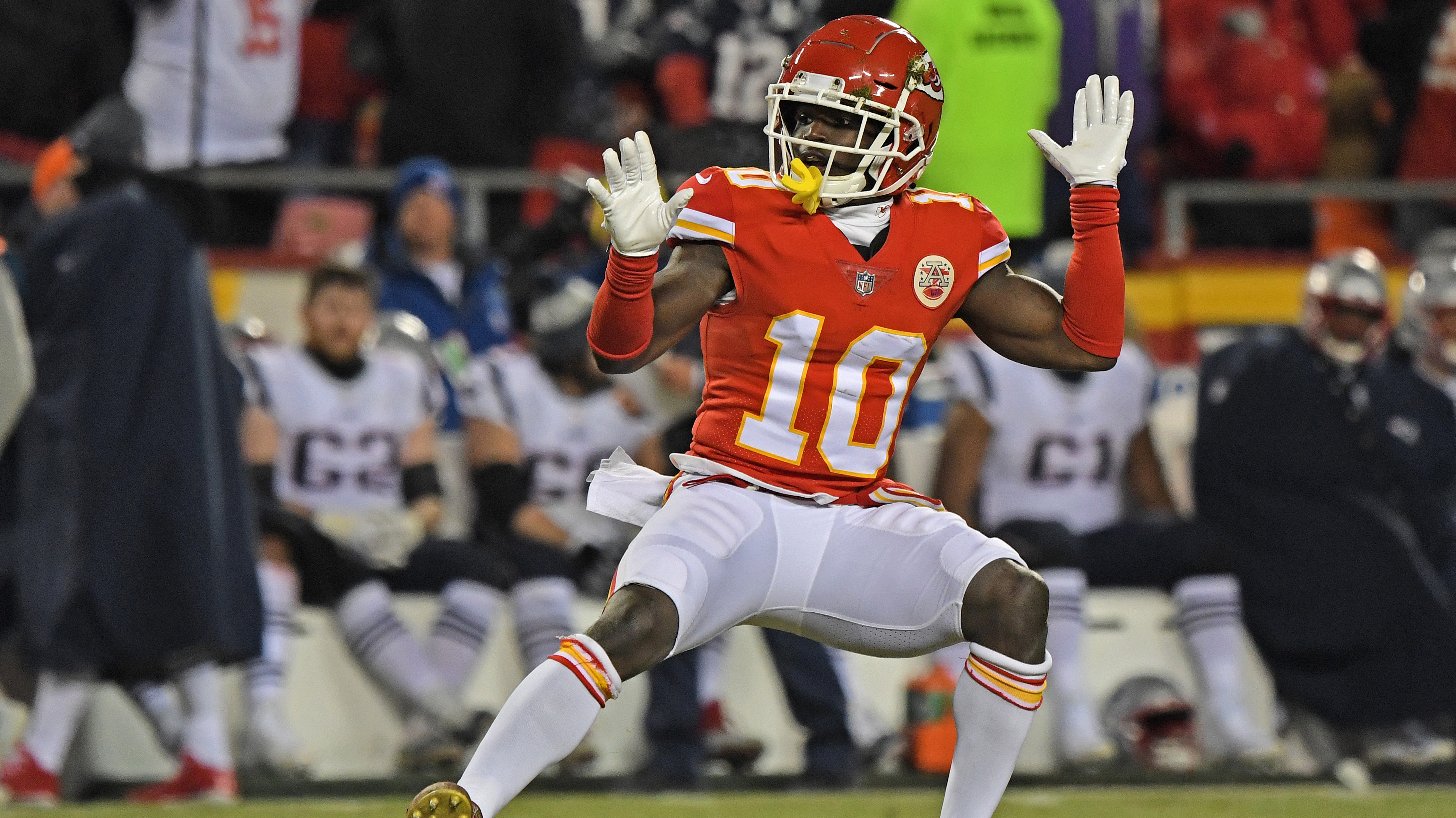 low priced d3819 e36f7 How will Chiefs' Tyreek Hill situation be resolved? | NBC Sports