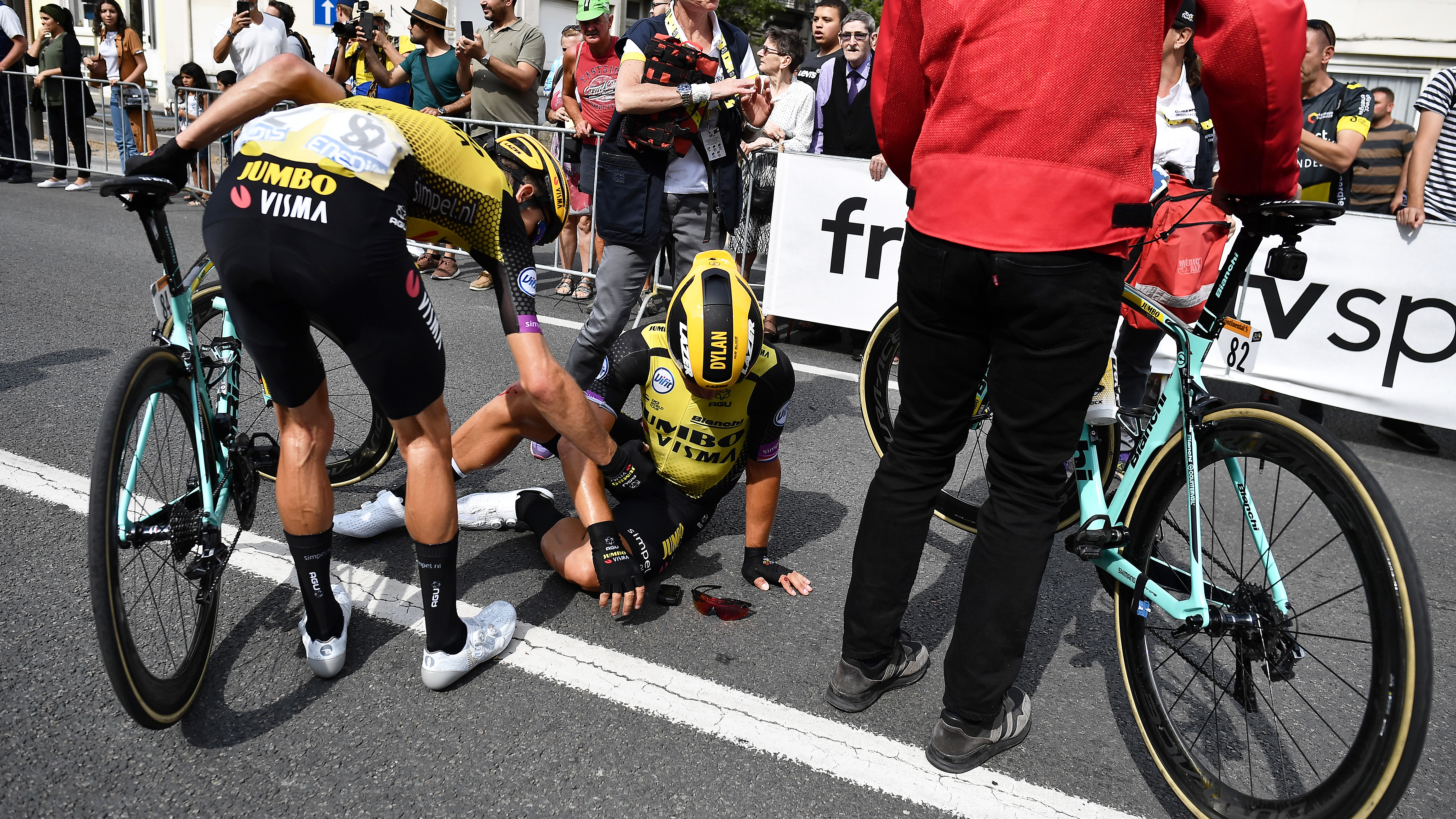 2019 Tour de France: Scariest crashes from first 10 stages | NBC Sports