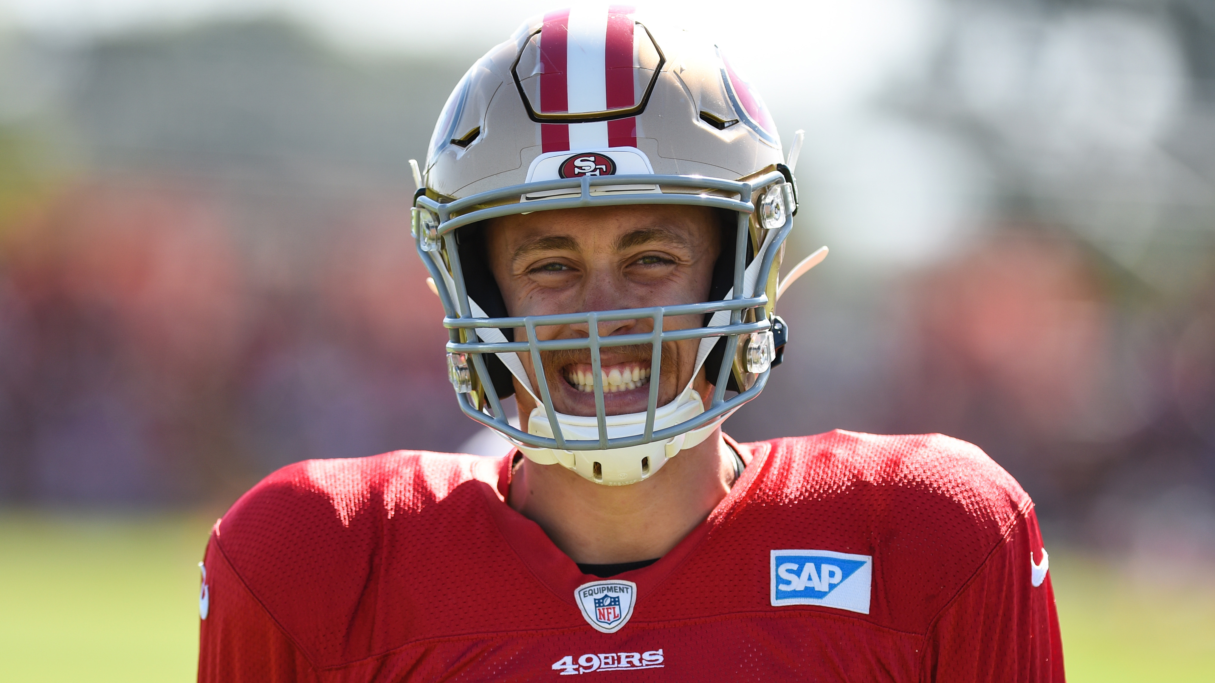 124ff729 49ers' George Kittle talks love of football, expectations in San ...