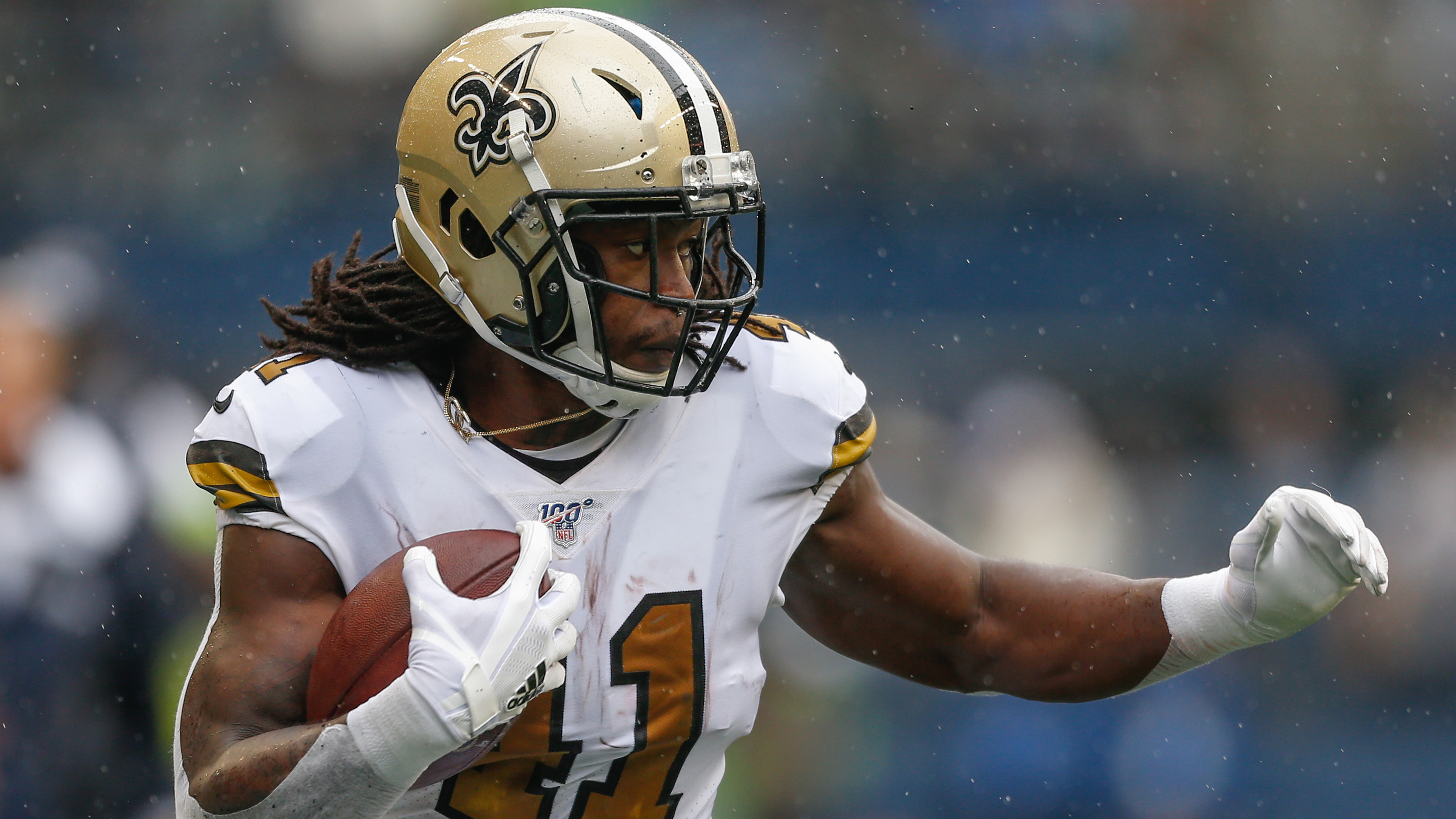 Saints' Alvin Kamara dealing with high-ankle injury
