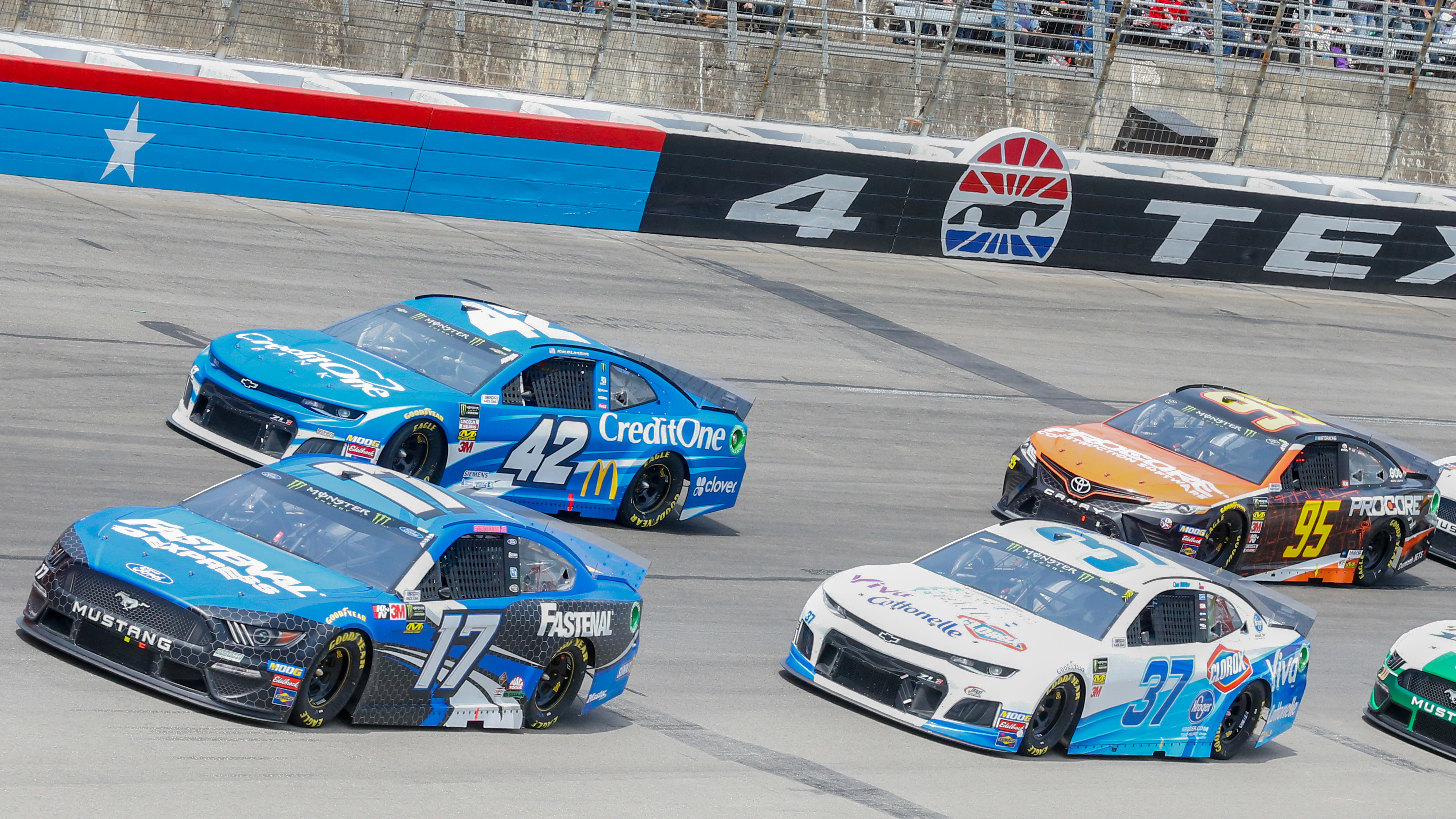 NASCAR Cup Series Playoffs continue in Texas on NBCSN