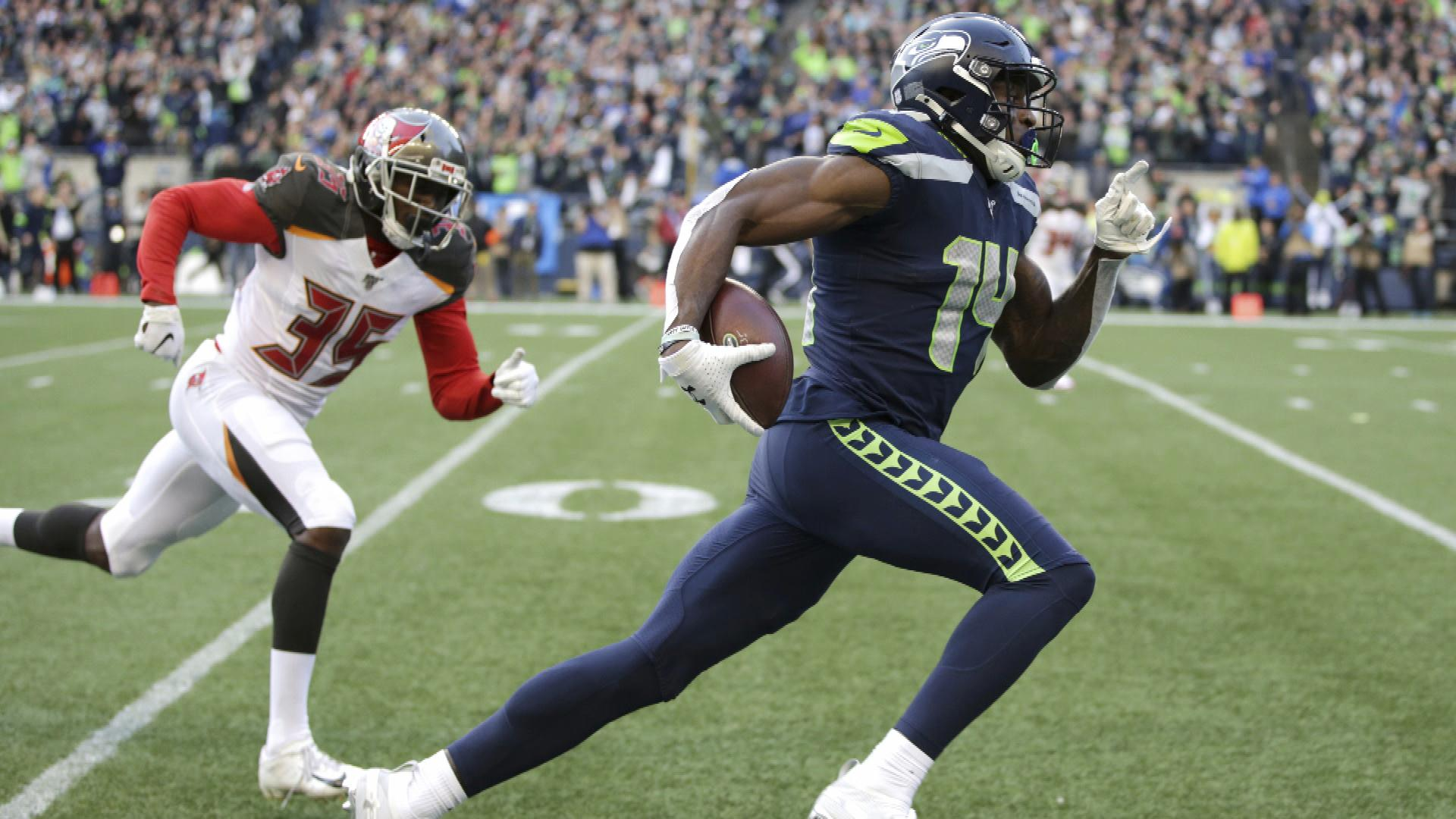 Seattle Seahawks Utilizing Rookie Receiver D K Metcalf Perfectly Nbc Sports