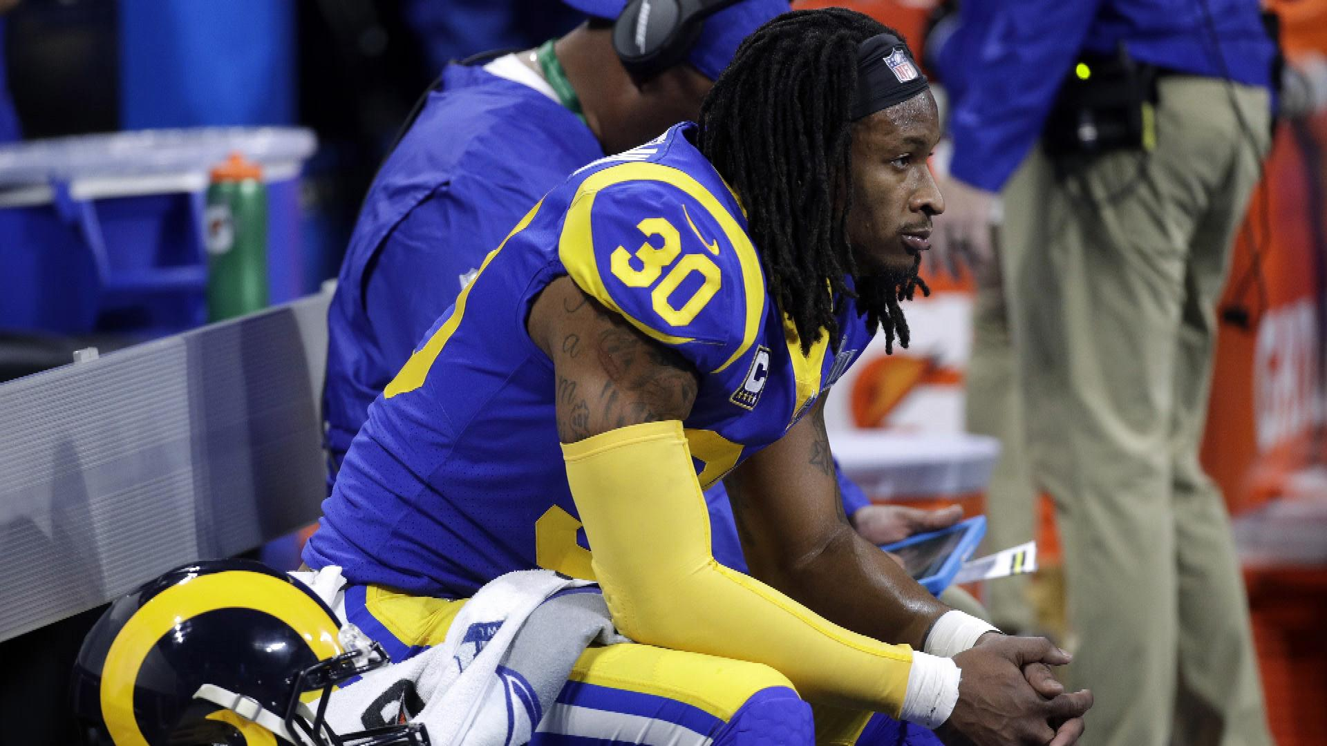 Todd Gurley's knee issues affected playing time in Rams vs. Steelers