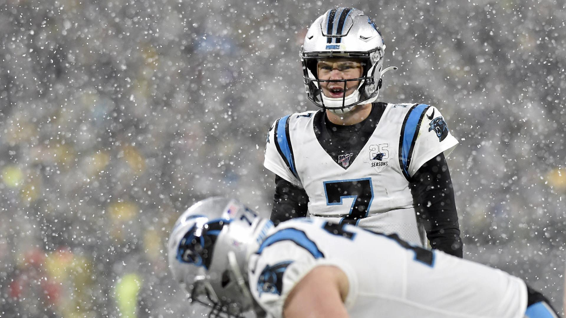 Carolina Panthers quarterback Kyle Allen good fit in DFS leagues in