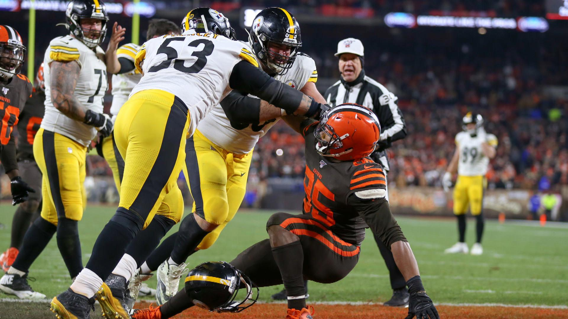 Mason Rudolph Mike Tomlin React To Myles Garrett Steelers