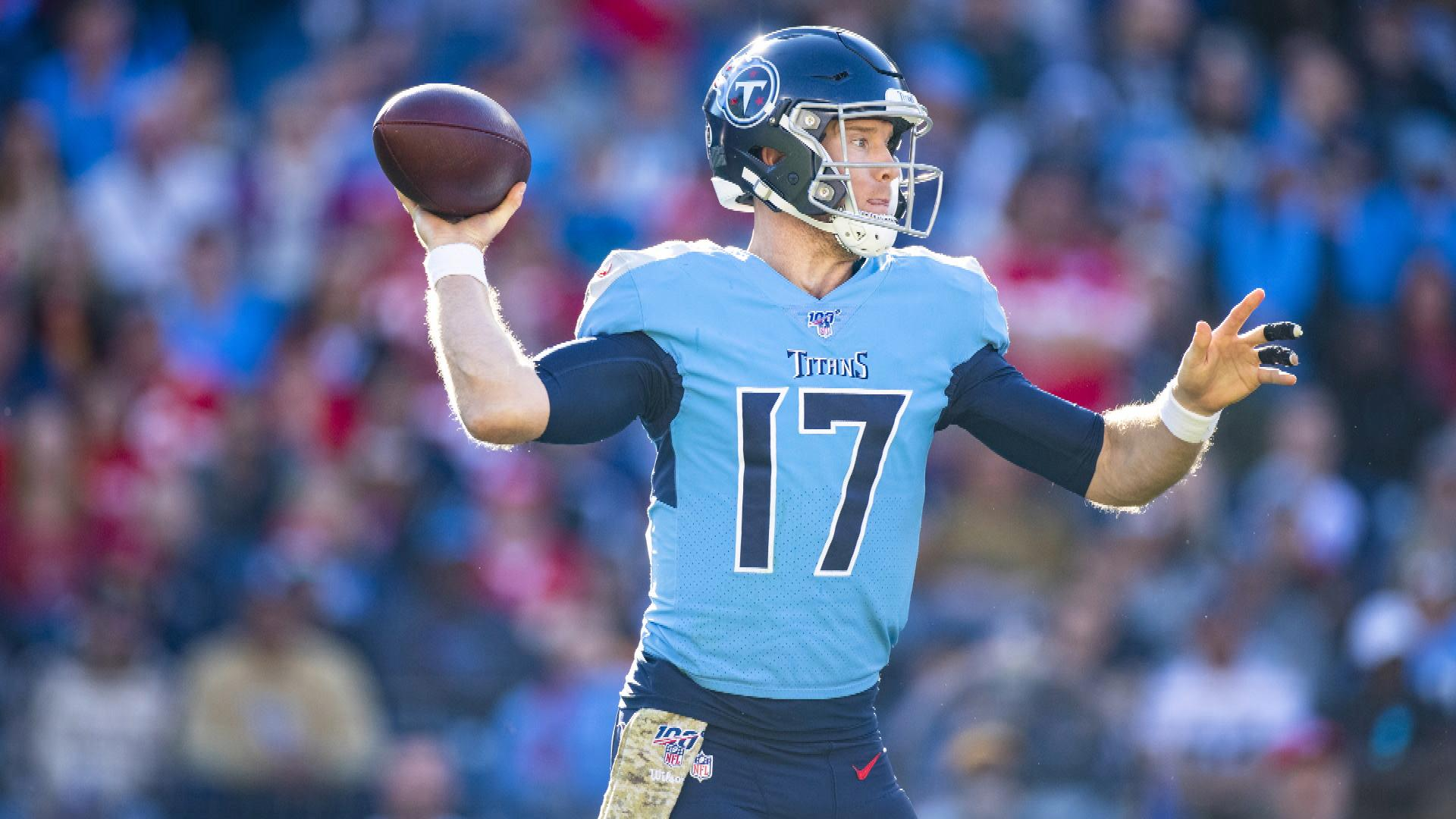 Ryan Tannehill A Solid Qb For Tennessee Titans In Playoff Picture Nbc Sports