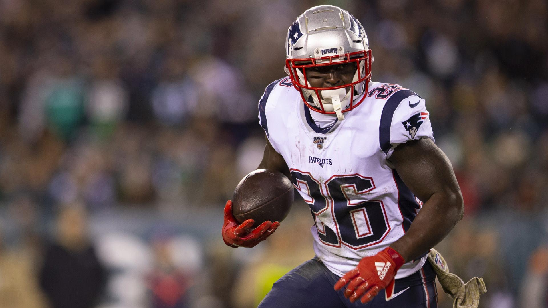 Patriots deep at RB as playoffs approach with Sony Michel, Rex