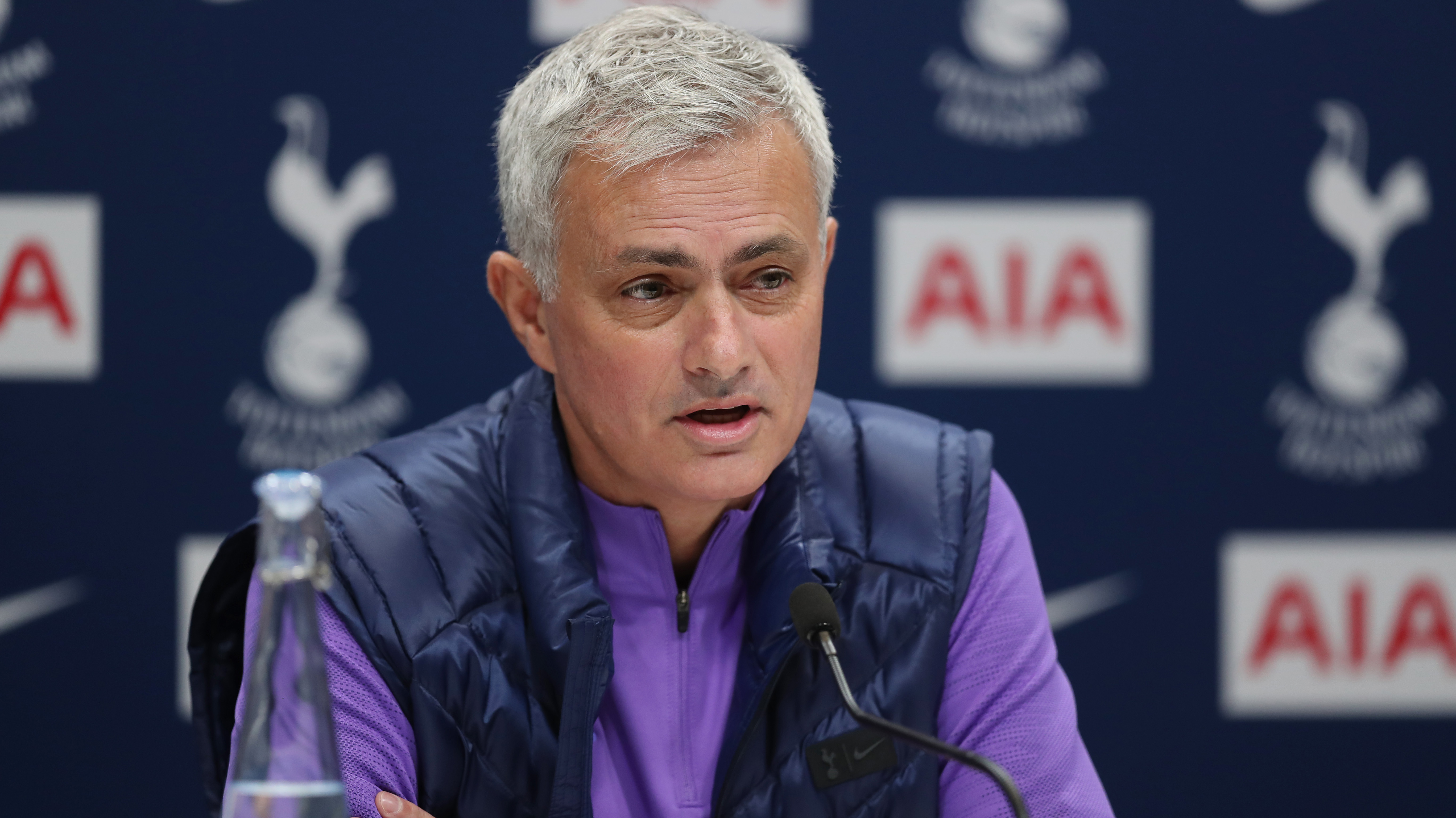 Jose Mourinho's first press conference with Tottenham