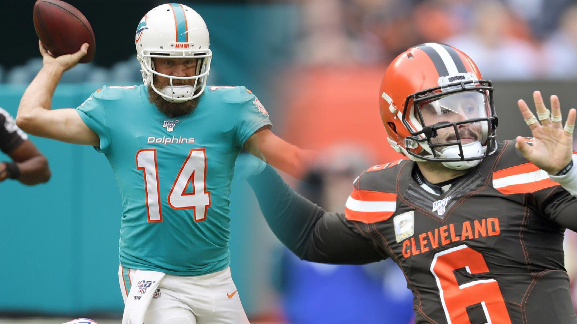 Dolphins vs. Browns NFL Week 12 fantasy preview