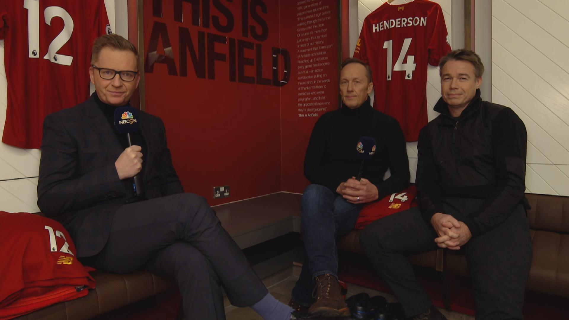 Around the Grounds at Liverpool with Arlo White, Lee Dixon, Graeme Le