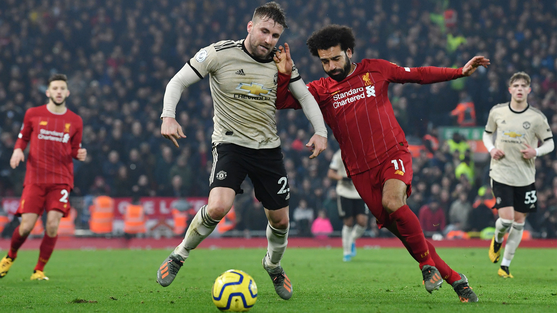 Extended highlights: Liverpool 2, Manchester United 0