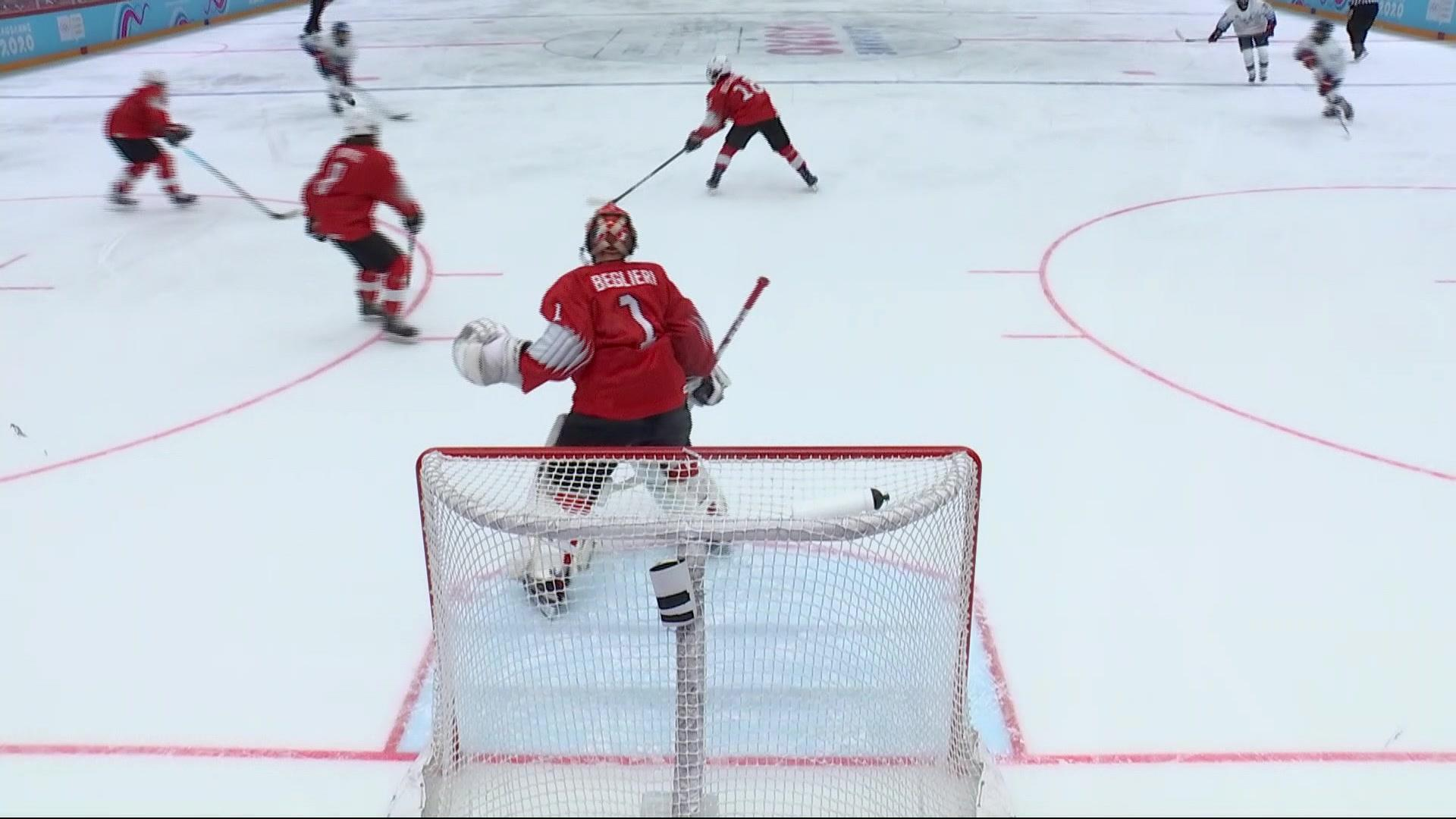 2020 Youth Olympic Games Highlights: USA 8, Switzerland 2
